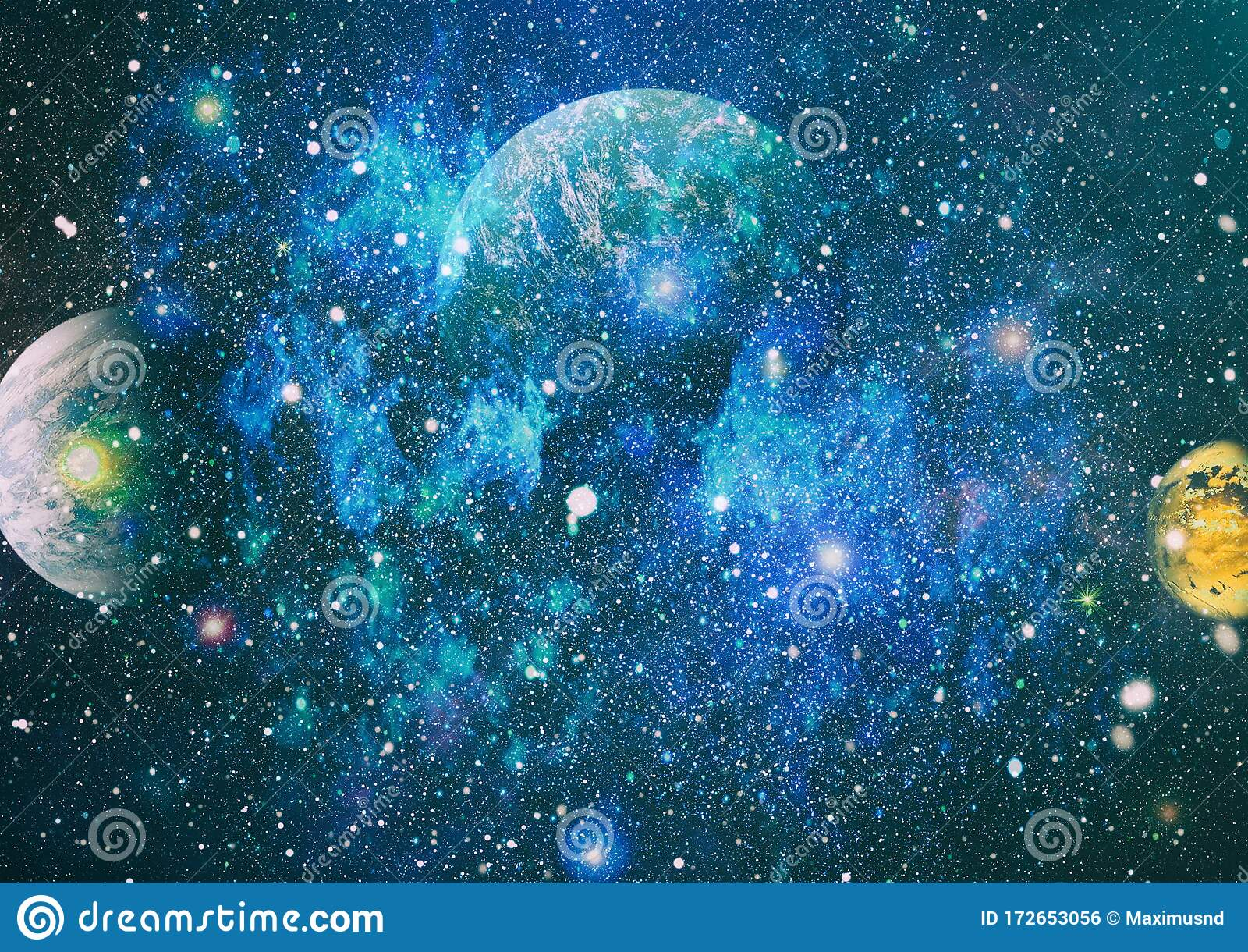dreamscape galaxy deep space science fiction fantasy high resolution ideal wallpaper elements image furnished 172653056