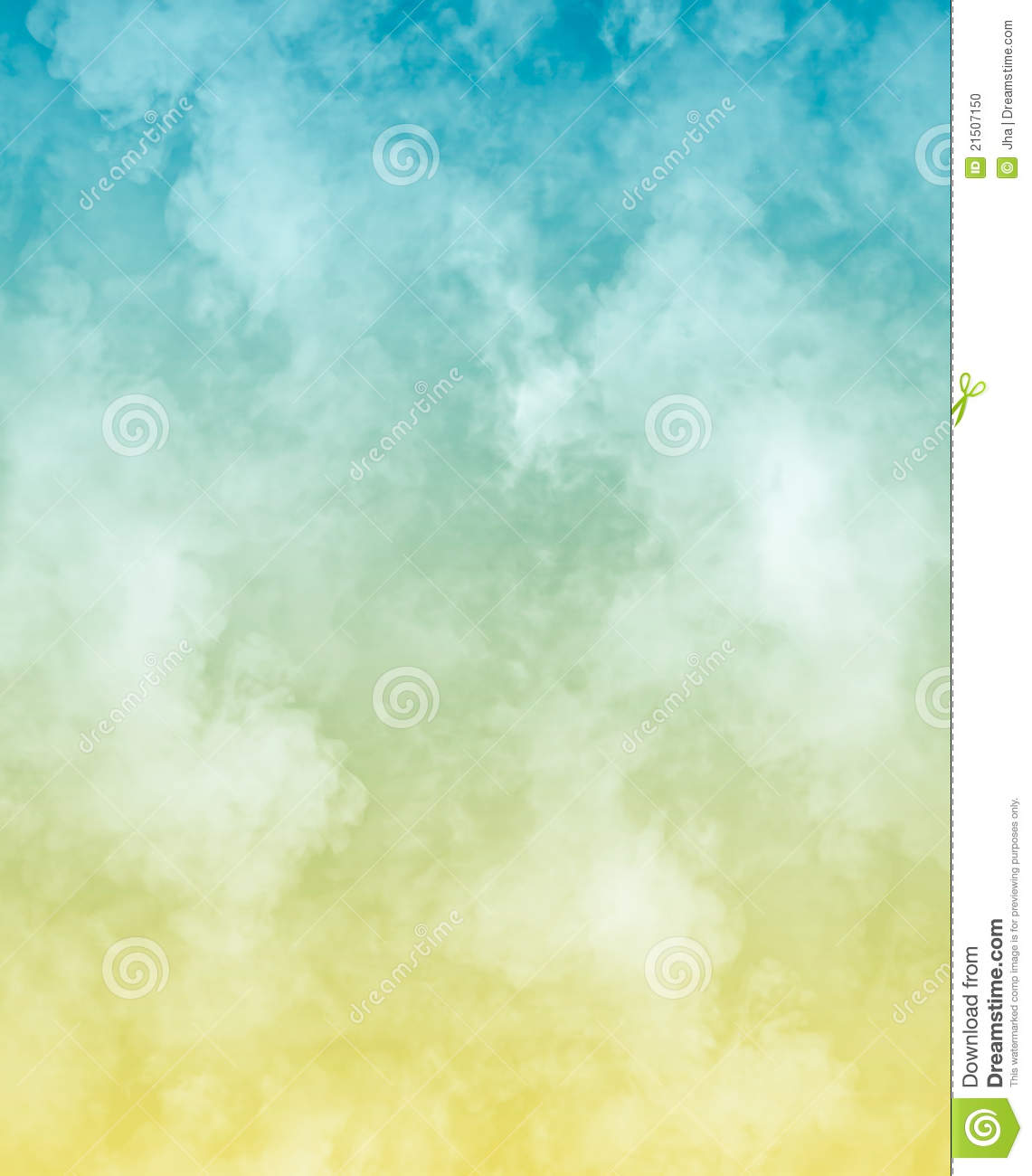 Dreamy Clouds Stock Photo - Image: 21507150