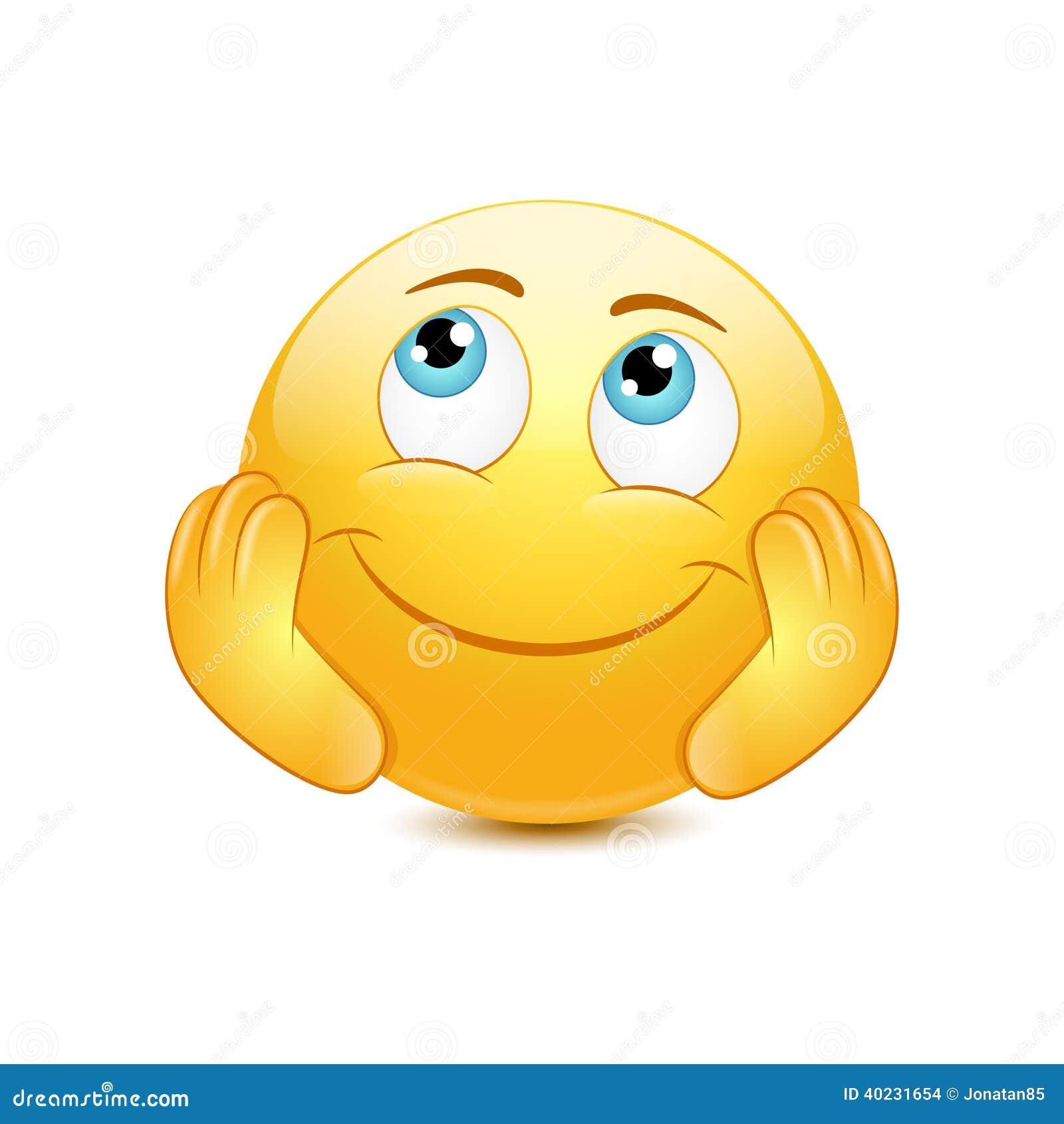 Dreamy Emoticon Stock Vector - Image: 40231654