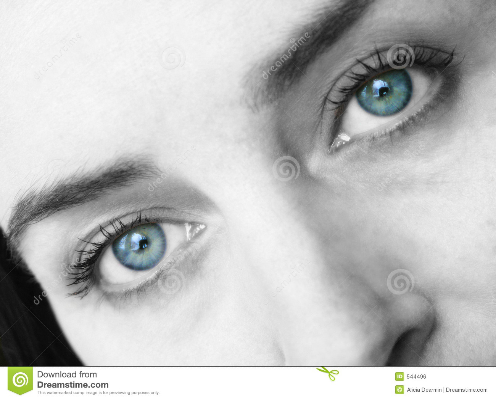 Dreamy Eyes Royalty Free Stock Image Image 544496