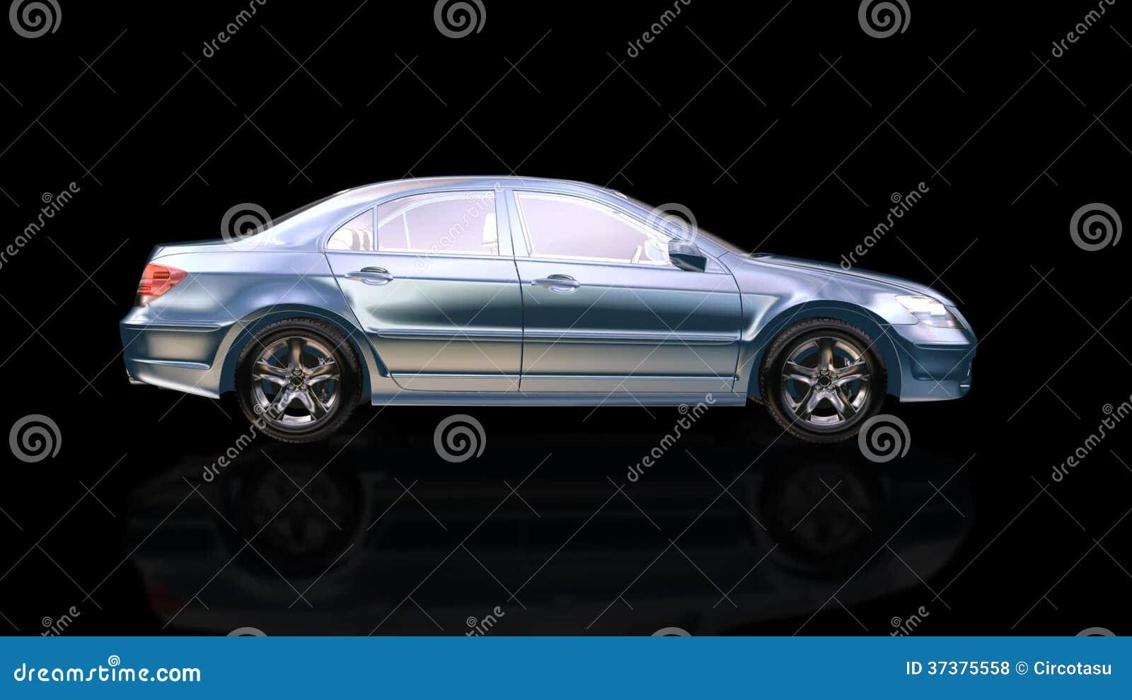 Drehendes Auto, Schleife stock video. Illustration von automobil ...