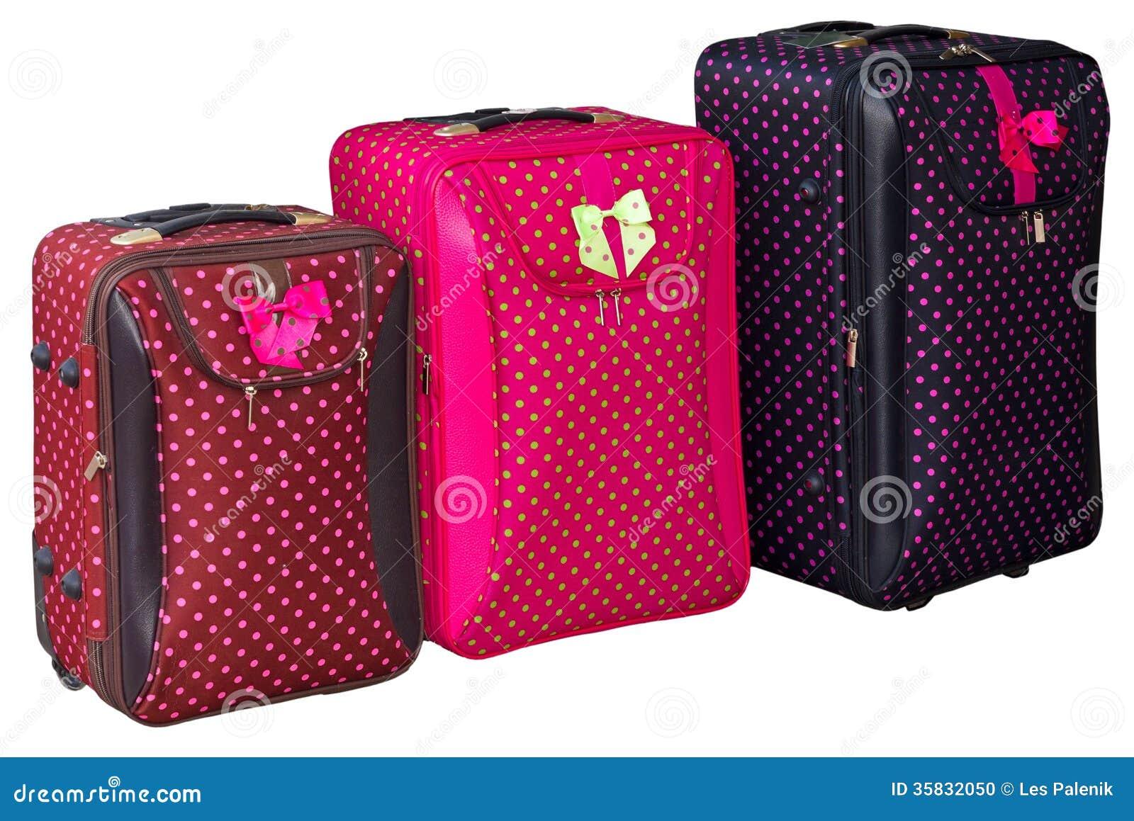 bunte koffer