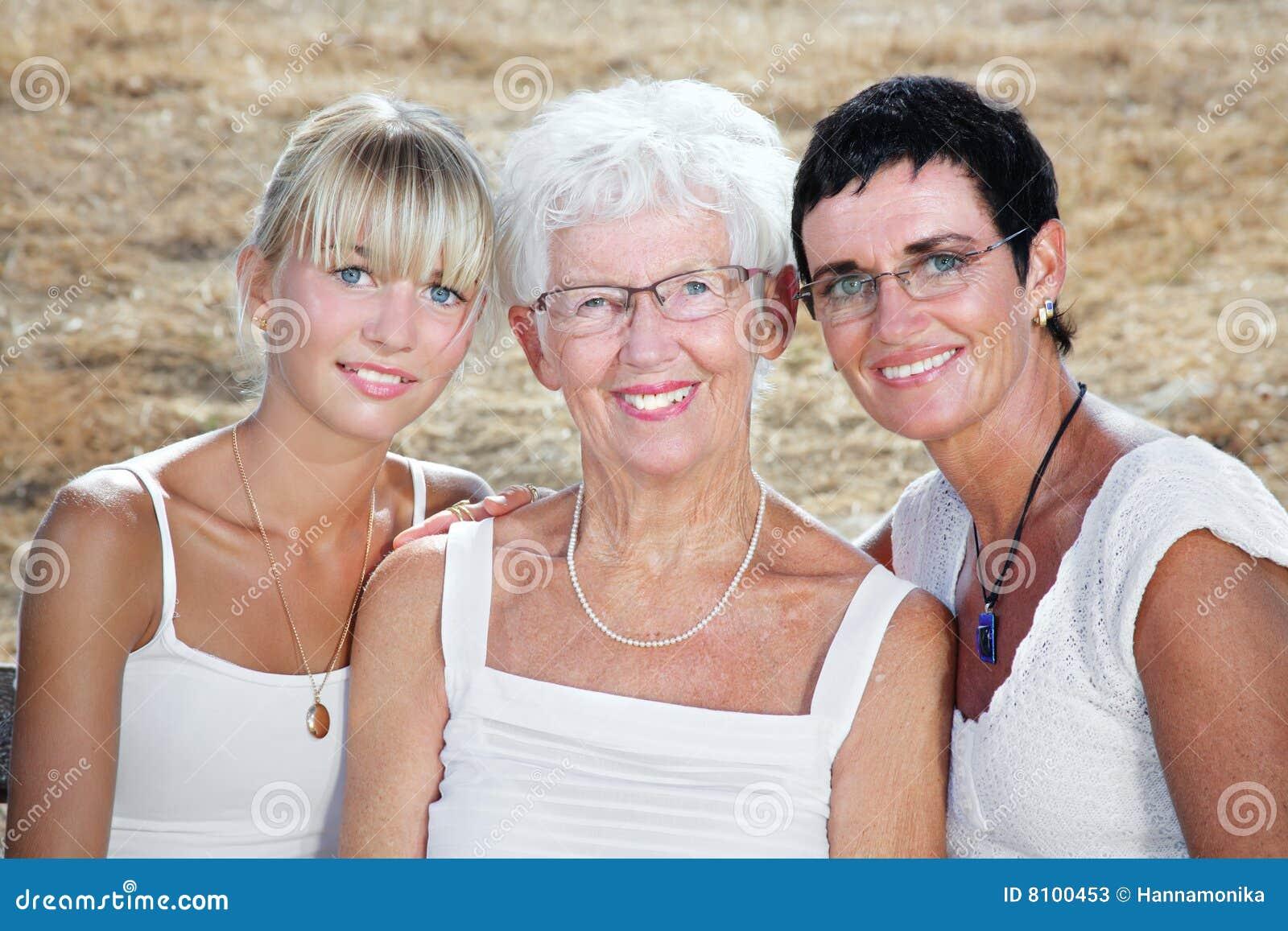 Drei Erzeugungen der Frauen