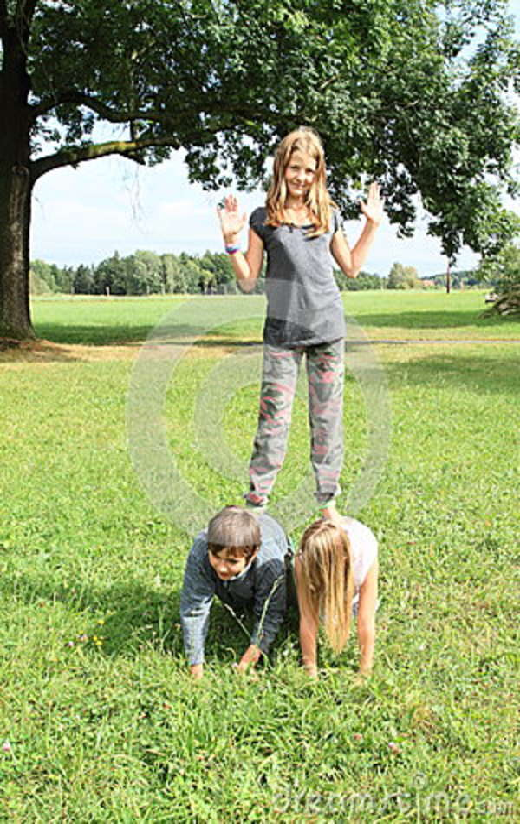 Kinder Werden Spielen Wenn