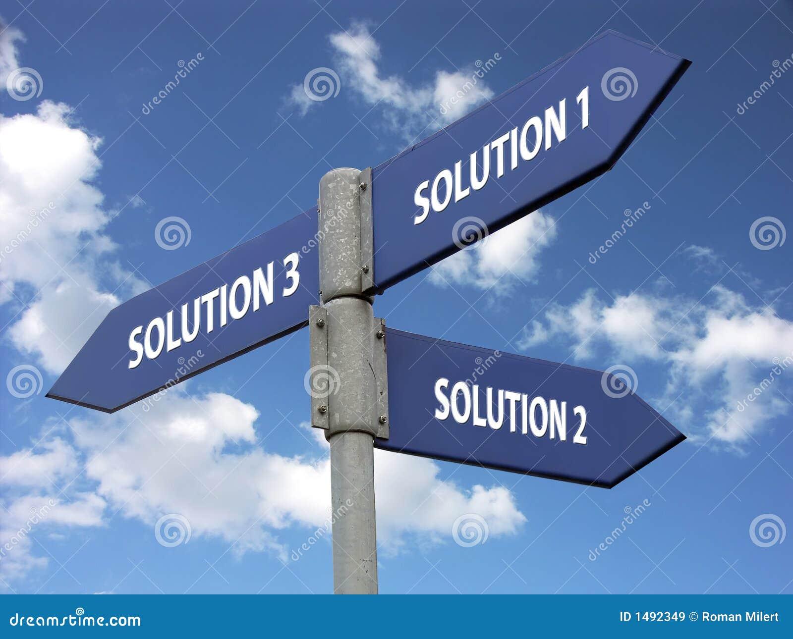 Drei Lösungen