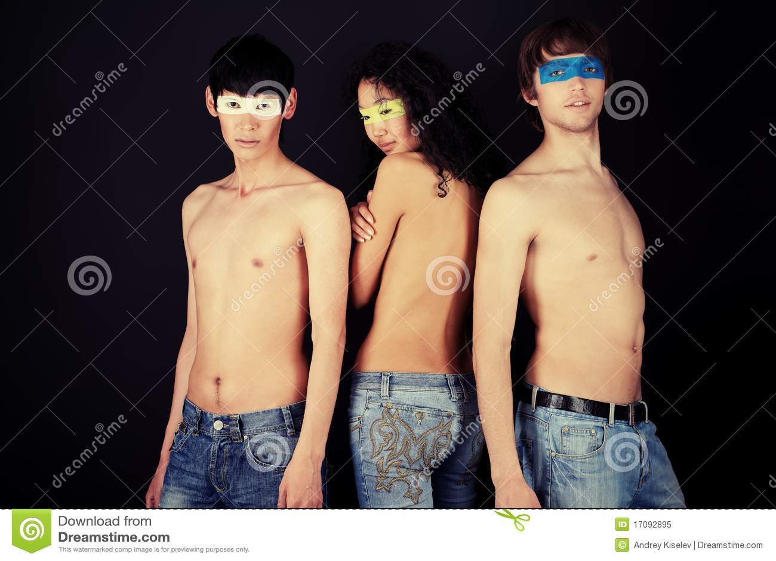 Drei Leute