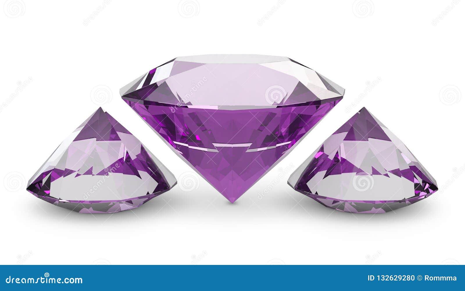 Rosa Diamanten
