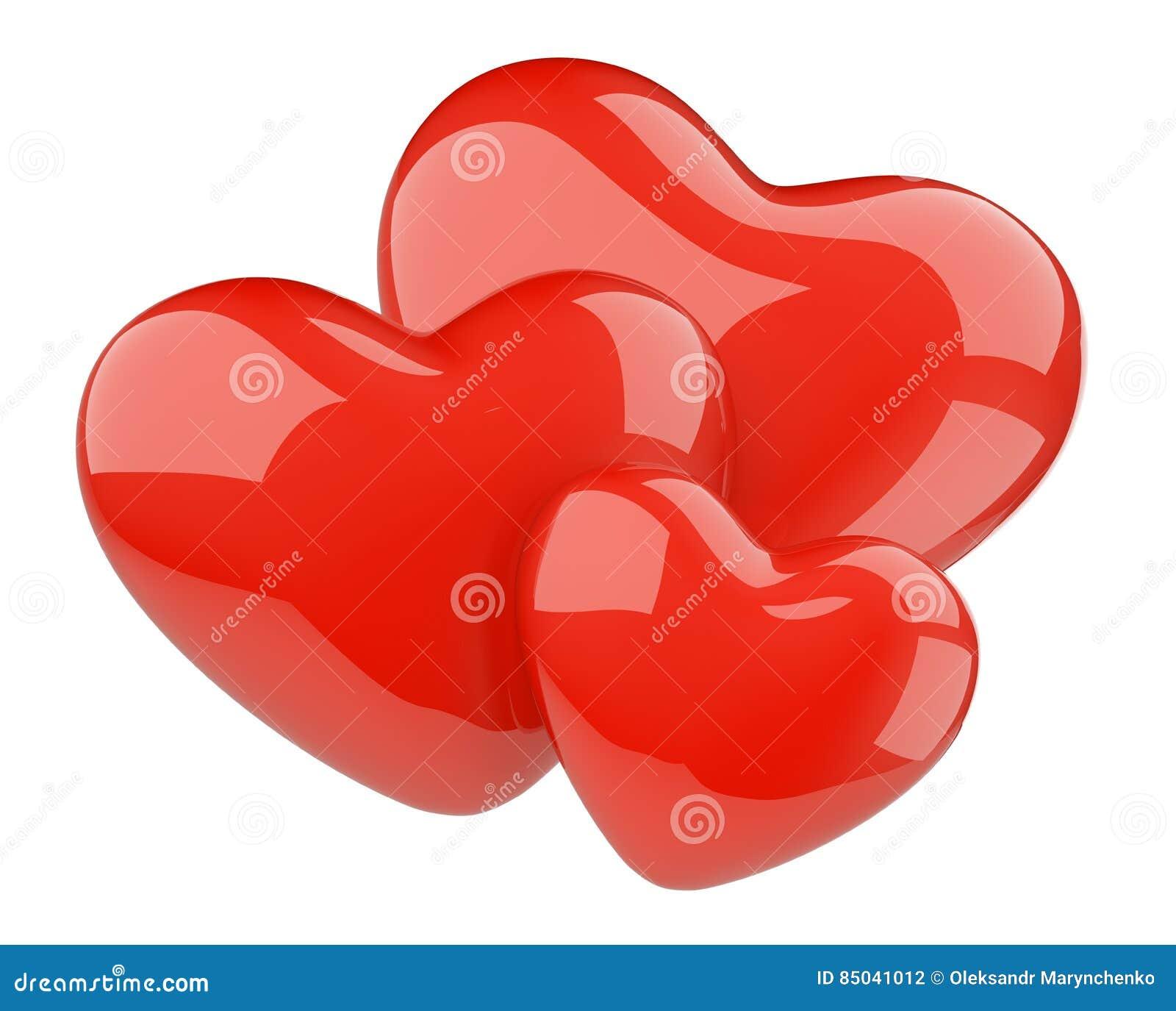 Oktopus Drei Herzen