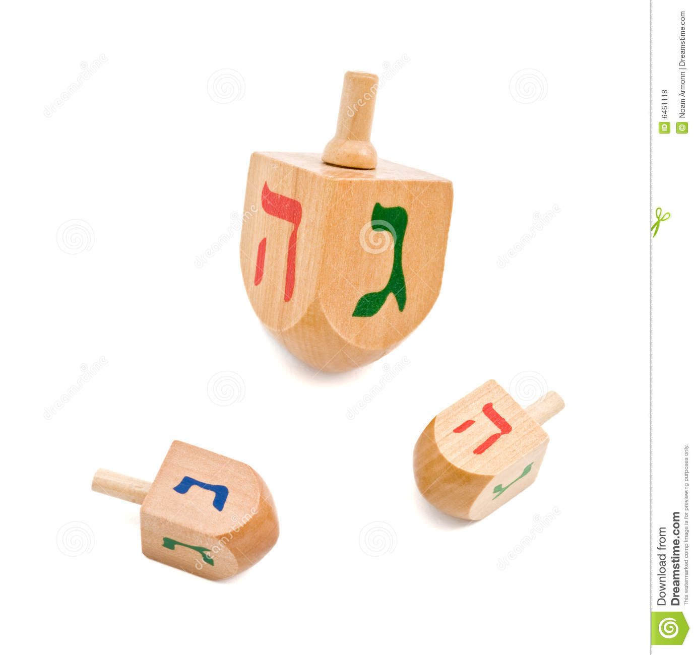 Dreidel Royalty Free Stock Photos - Image: 6461118