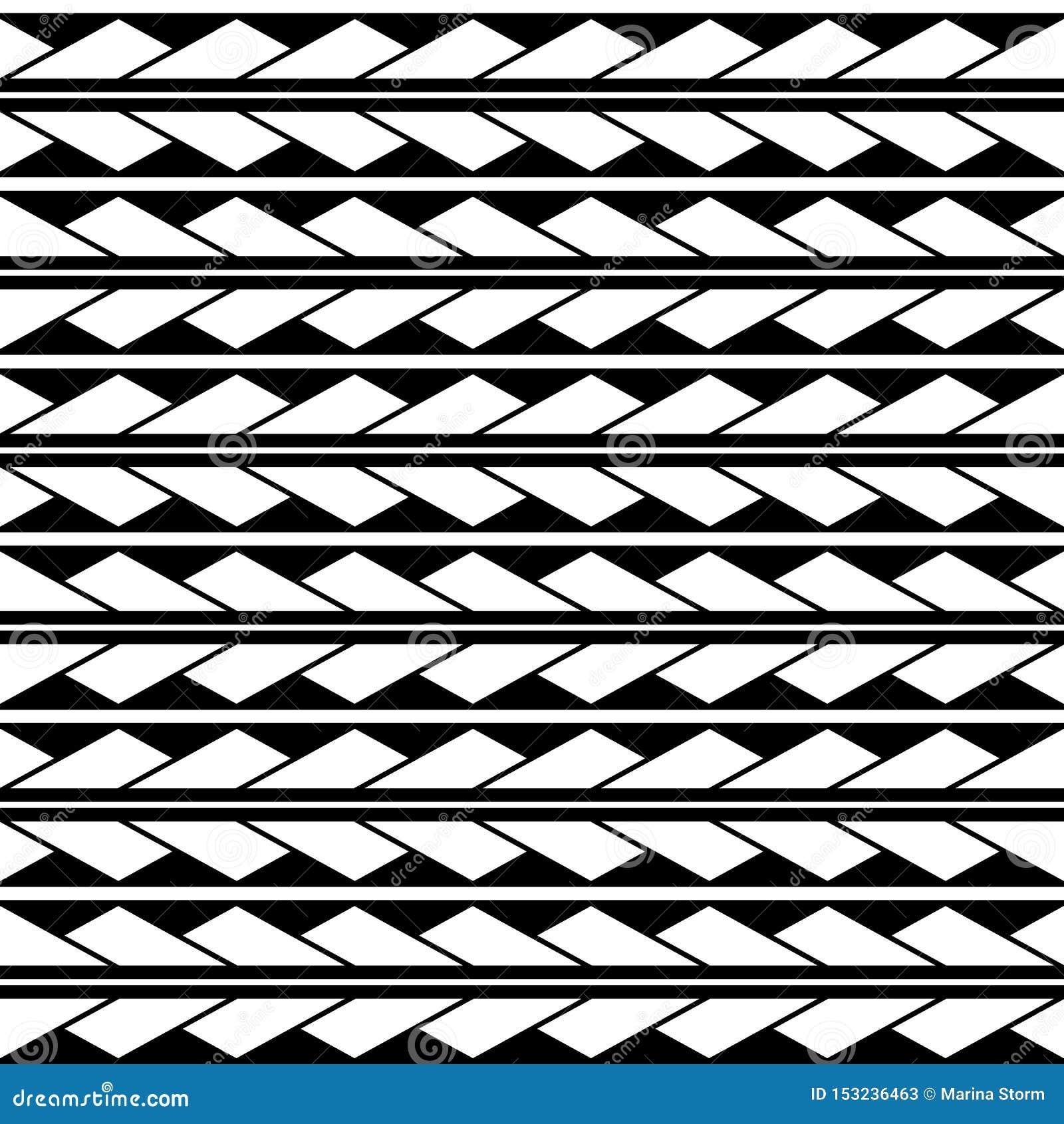 Dreieck-Rautenmuster des Vektors verzieren nahtloses Maori-, ethnisch, Japan-Art Moderne Artbeschaffenheit