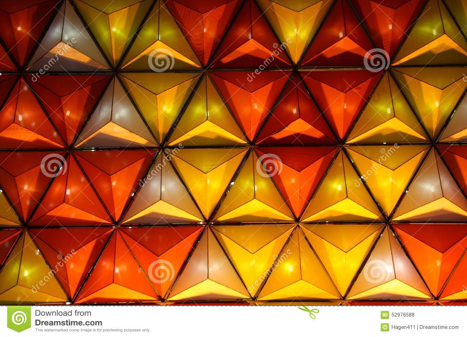 Dreiecke des Lichtes