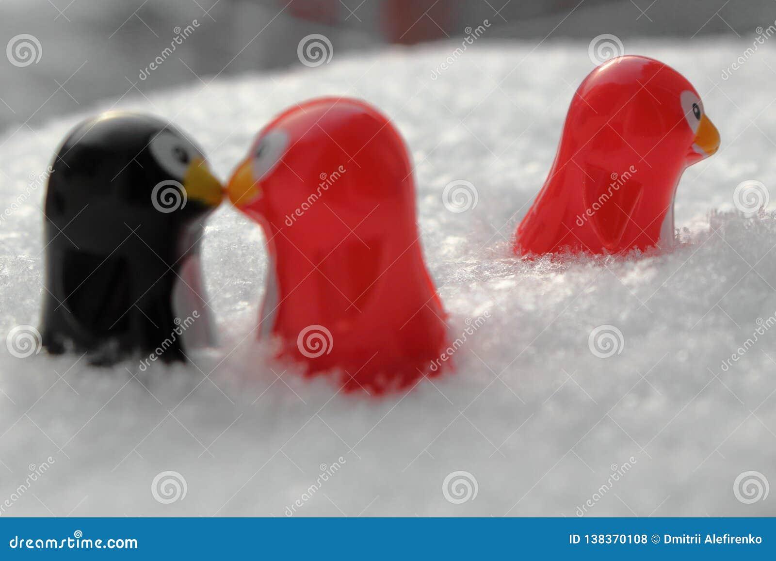 Dreiecksverhältnis oder Sein drittes Rad Angelegenheit, Untreue haben oder Betrug des Konzeptes Konzept der unvergoltenen Liebe