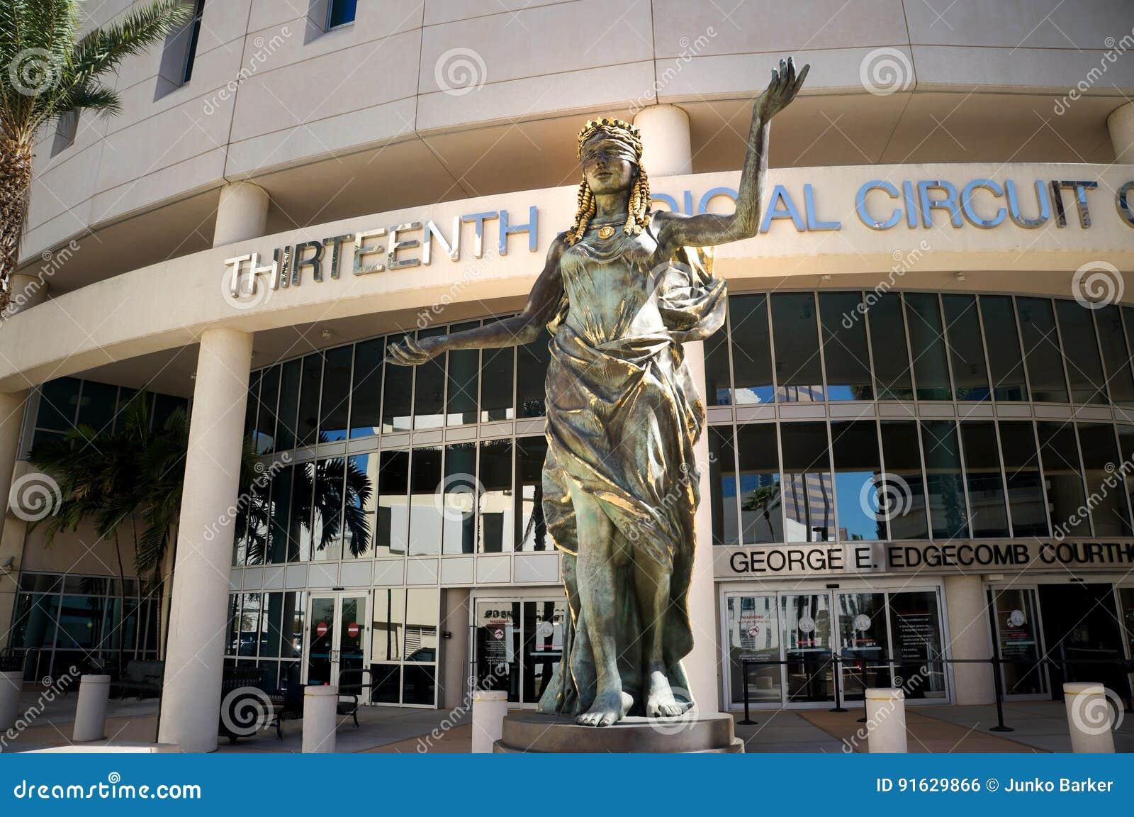 Dreizehntes Gerichtsschwurgericht von Florida, im Stadtzentrum gelegenes Tampa, Florida, Vereinigte Staaten