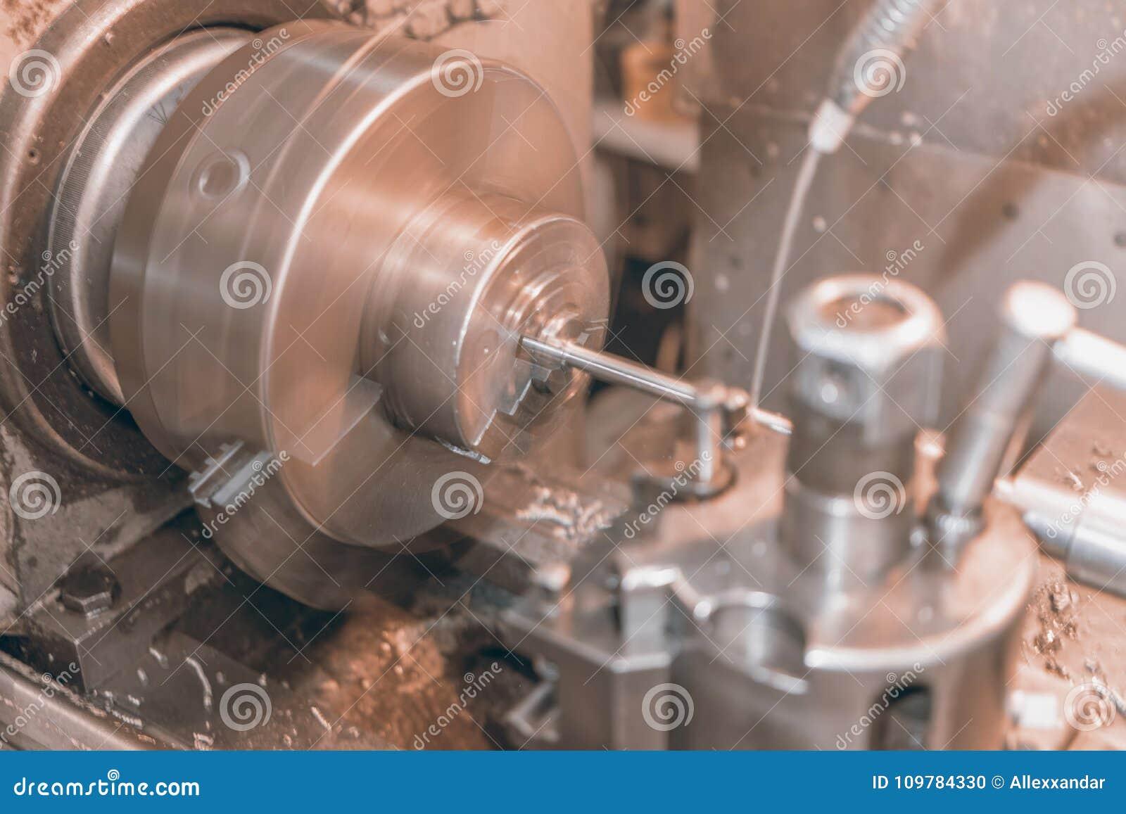 Drejbänk för metall för rörelsesuddighet, drejbänkmaskinMetalworking i seminarium