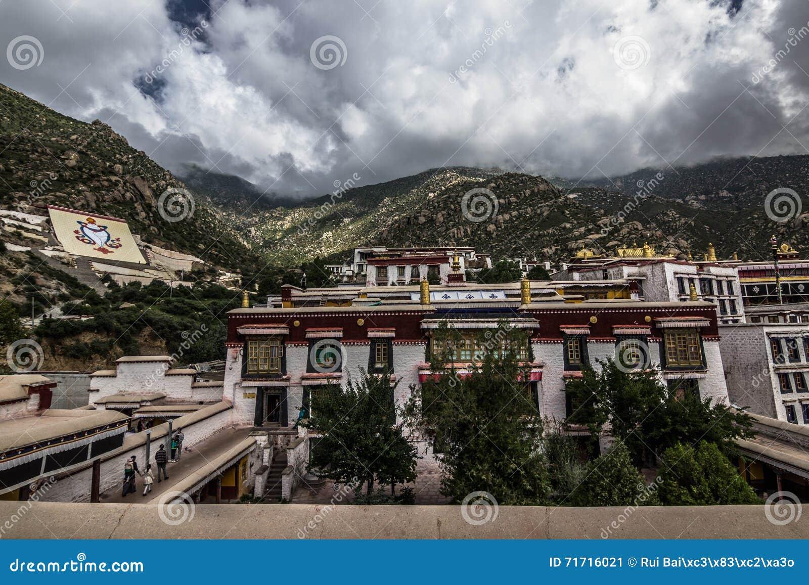 Drepung monaster blisko Lhasa, Tybet