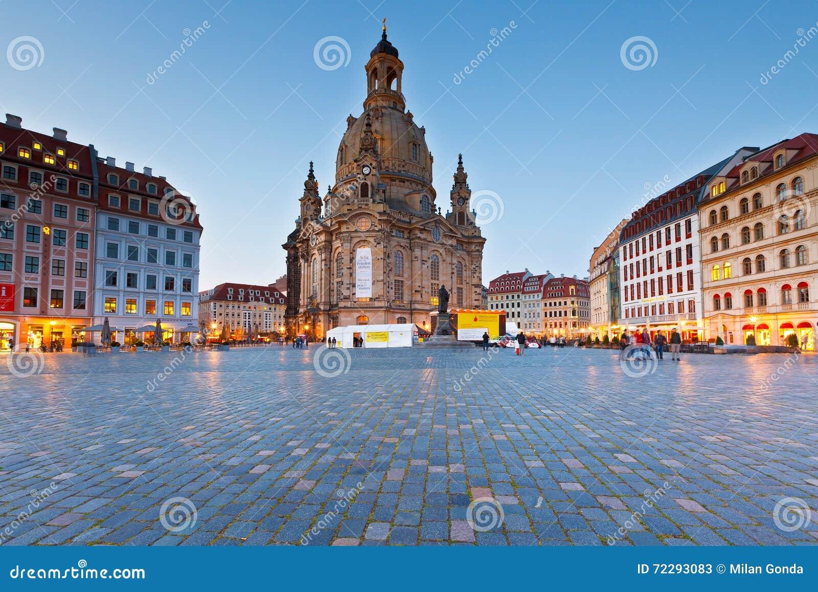 Download Dresden редакционное стоковое фото. изображение насчитывающей вечер - 72293083