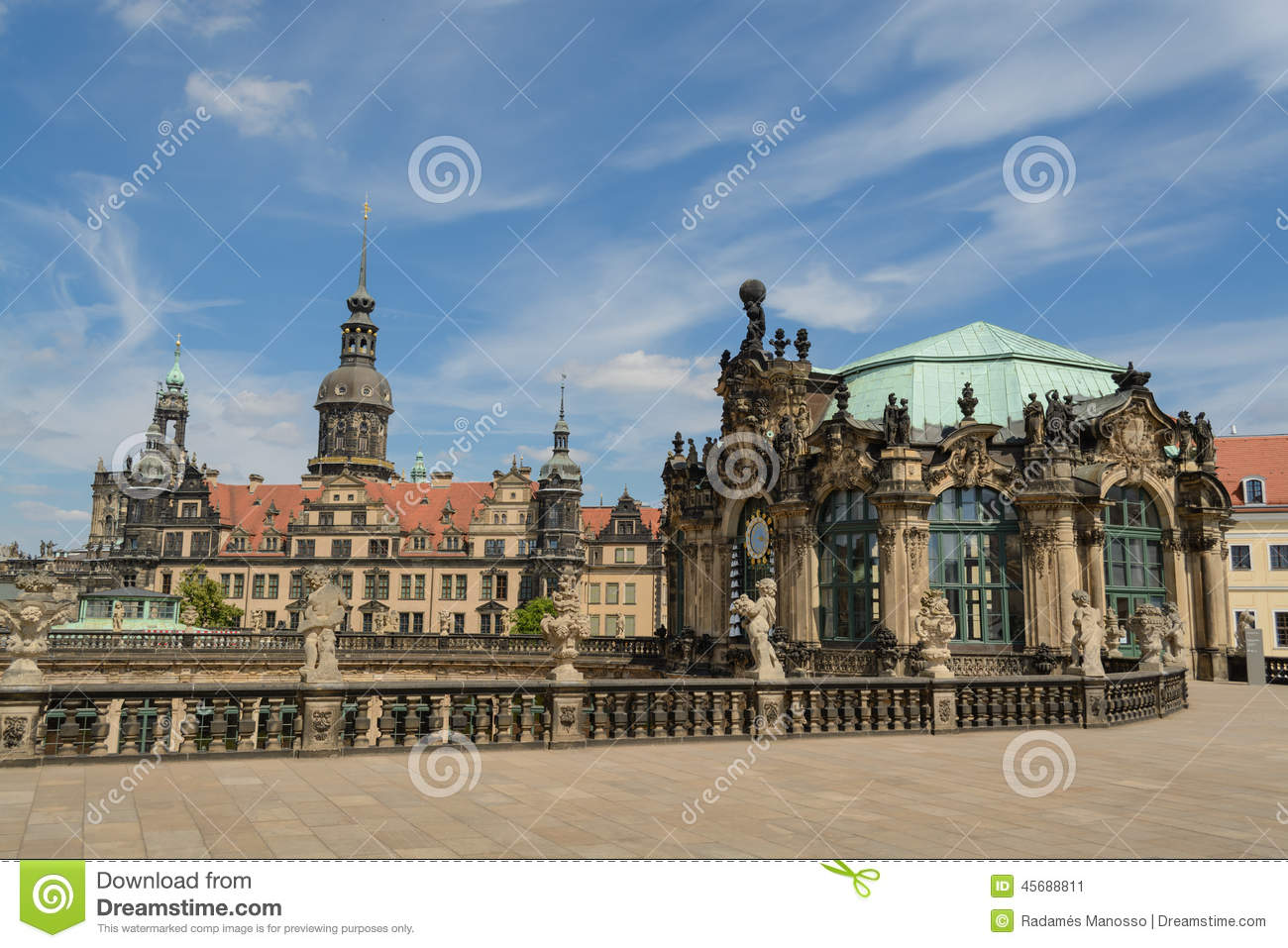 Dresden Castle and the Zinger
