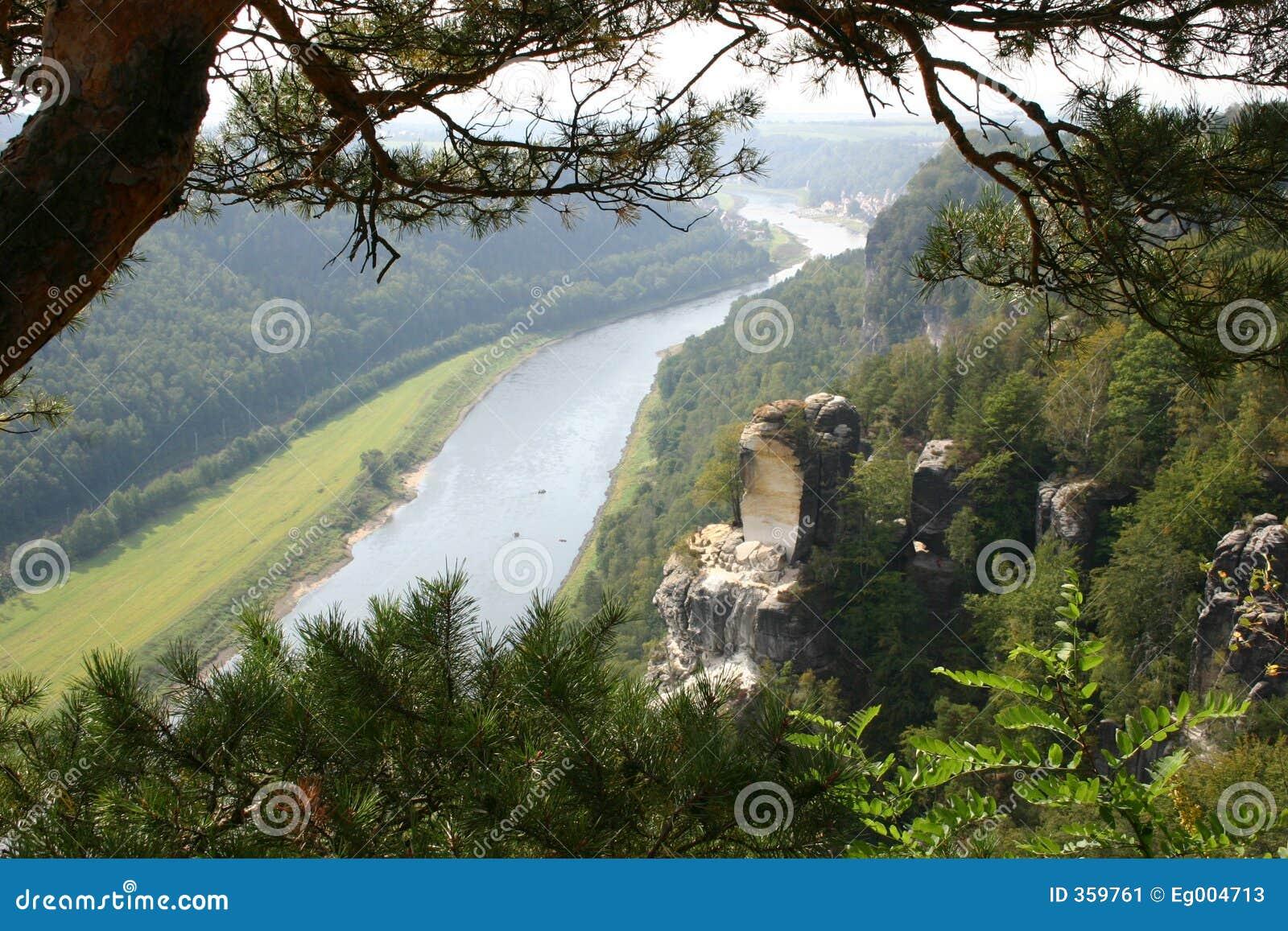 Dresden elbe около долины