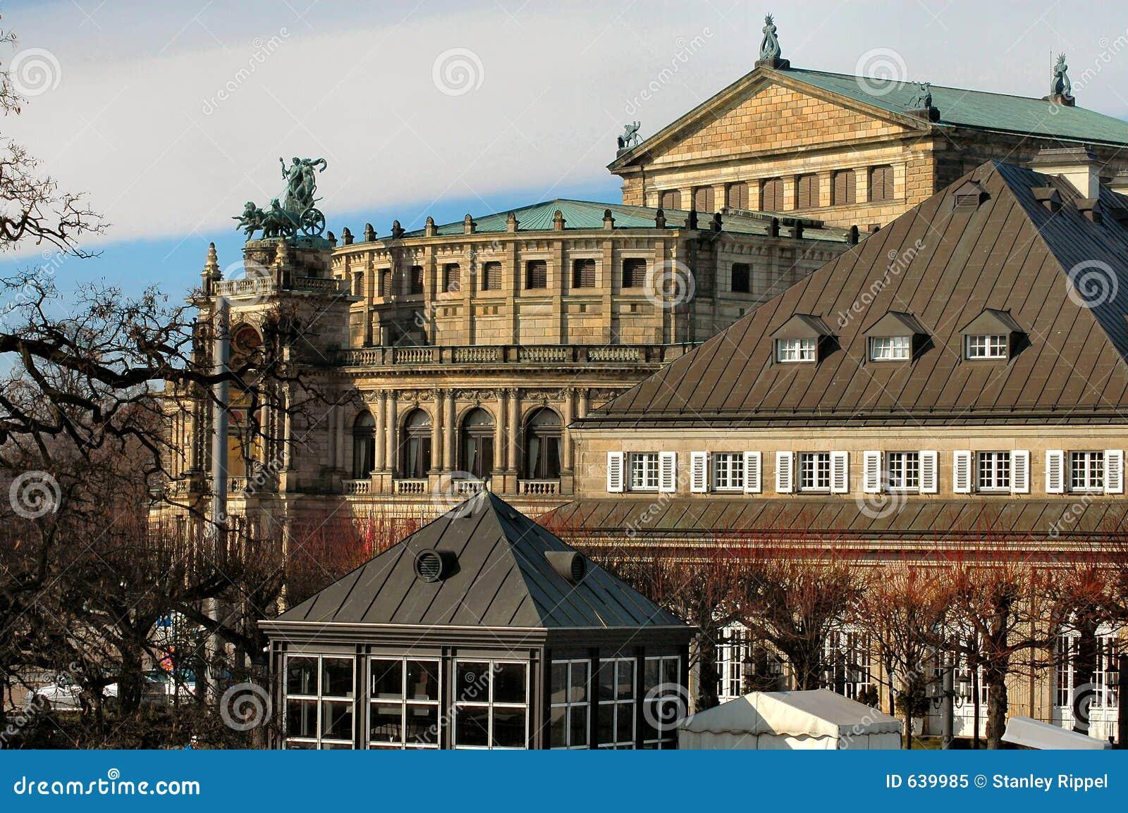 Dresden-Opernhaus