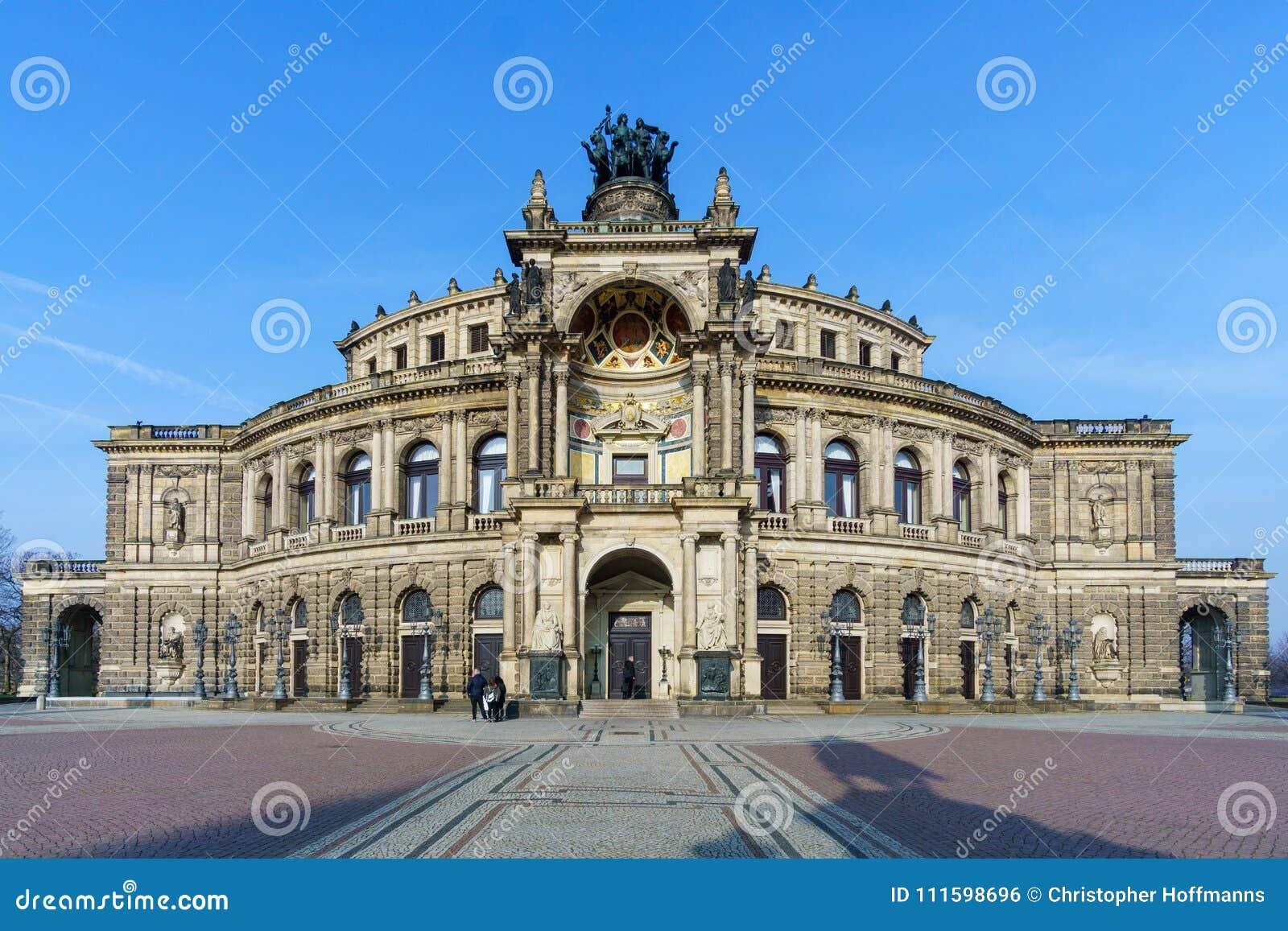 Dresden Semperoper Deutschland