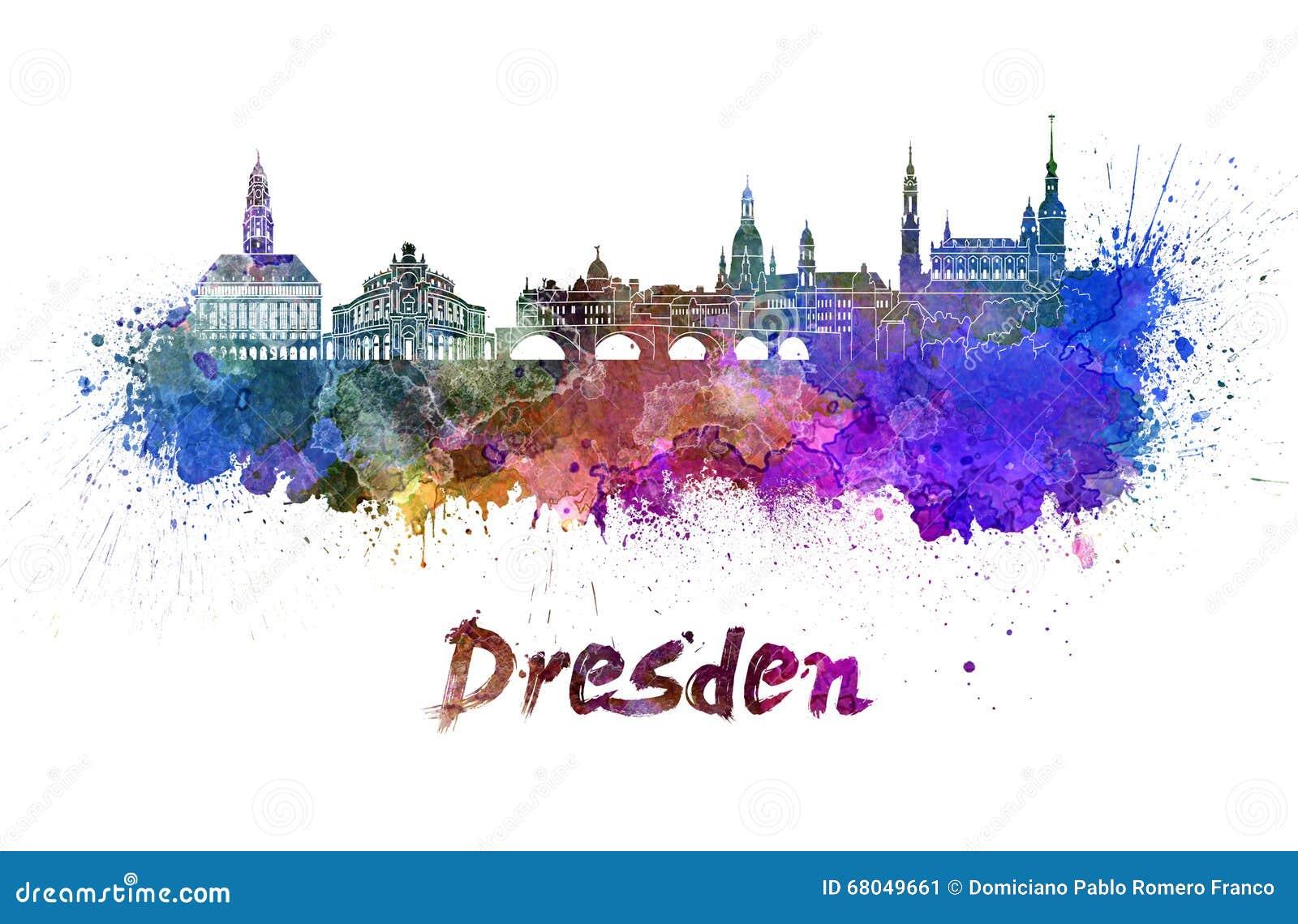 Elegant Skyline Dresden Das Beste Von P