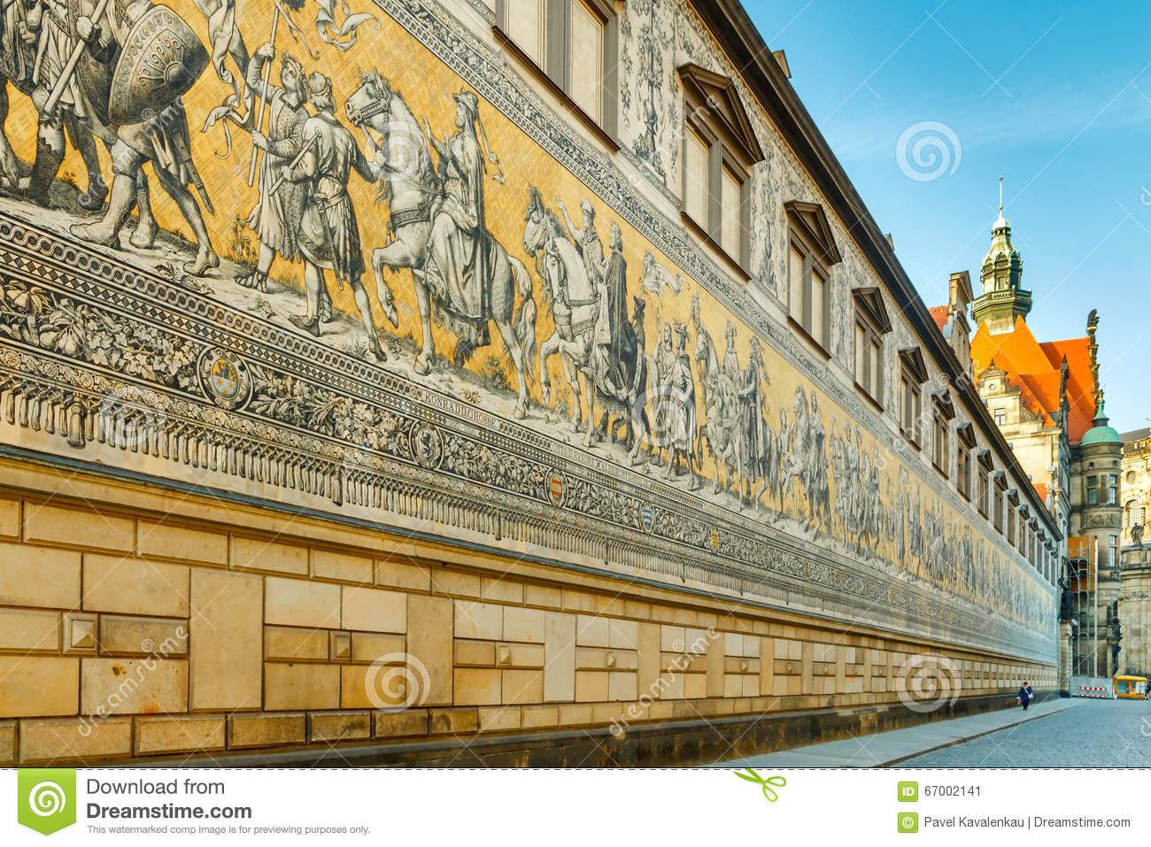 dresden wall procession of kings editorial photo image. Black Bedroom Furniture Sets. Home Design Ideas