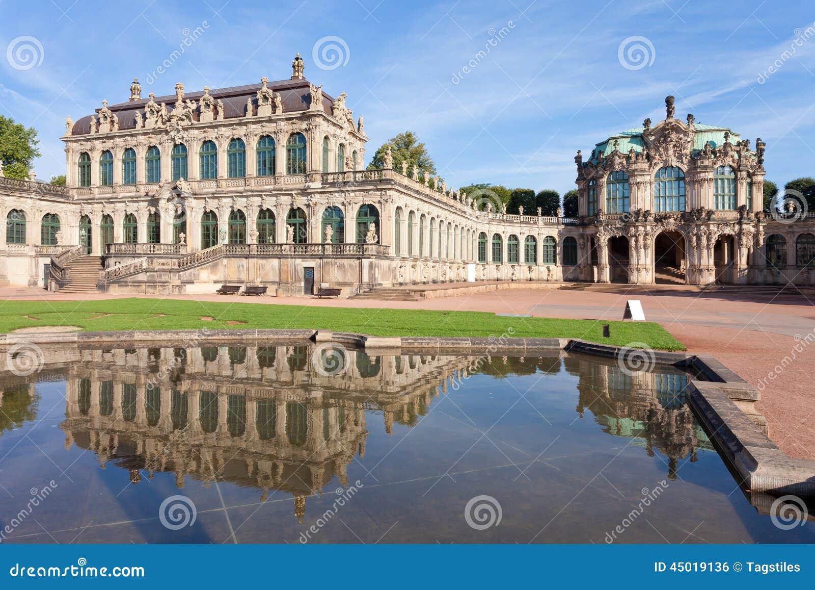 Download Dresden Zwinger stockfoto. Bild von stadt, frech, freizeit - 45019136