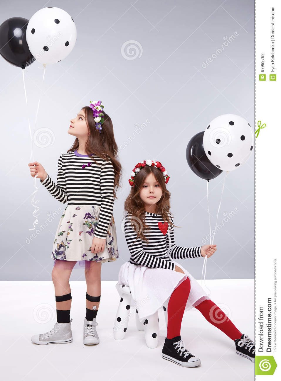 e2671a977 Dress Girl Clothing Small Collection Cute Stock Image - Image of ...