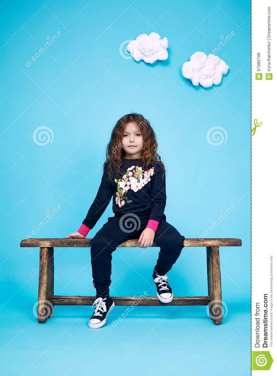 Dress Girl Clothing Small Collection Cute Stock Photo - Image of ...