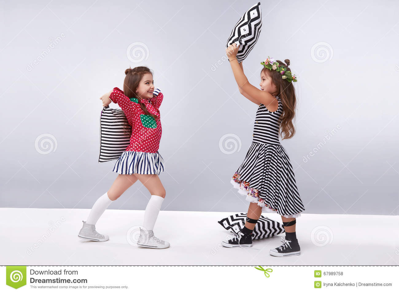 Dress Girl Clothing Small Collection Cute Stock Photo Image 67989758
