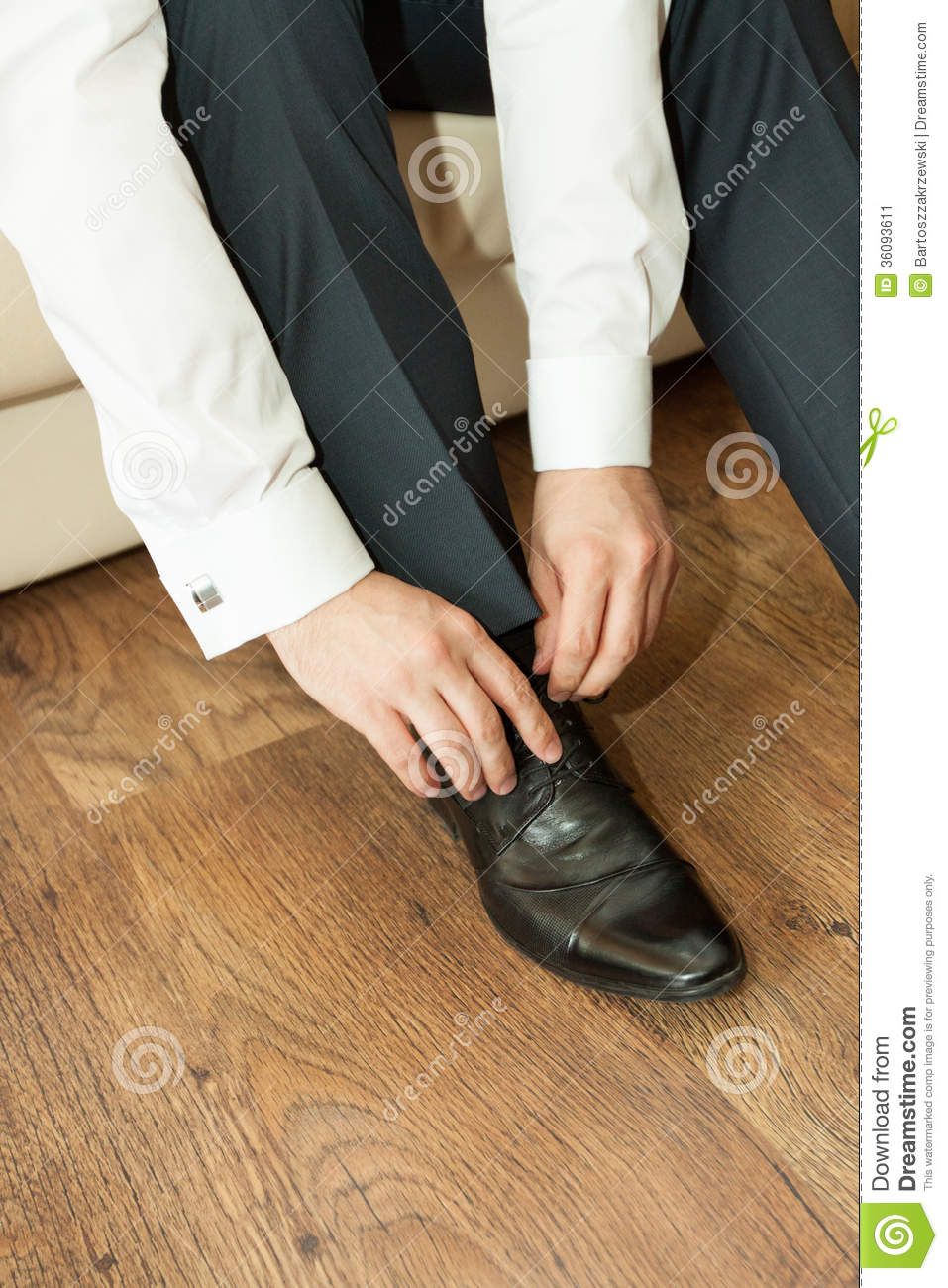 Dress Shoes To Suit Stock Image - Image: 36093611