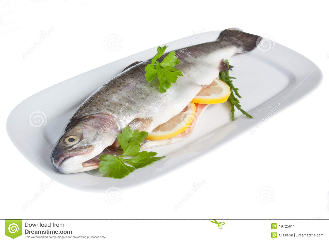 how to cook a dressed rainbow trout