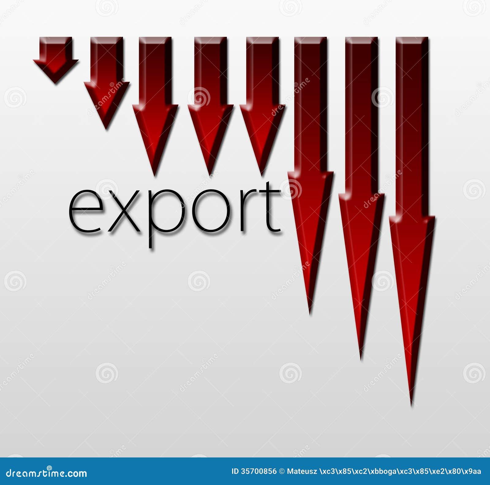 """Résultat de recherche d'images pour """"exportation en baisse"""""""