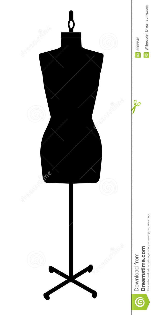 Dressmakers Mannequin Stock Photography - Image: 5282242