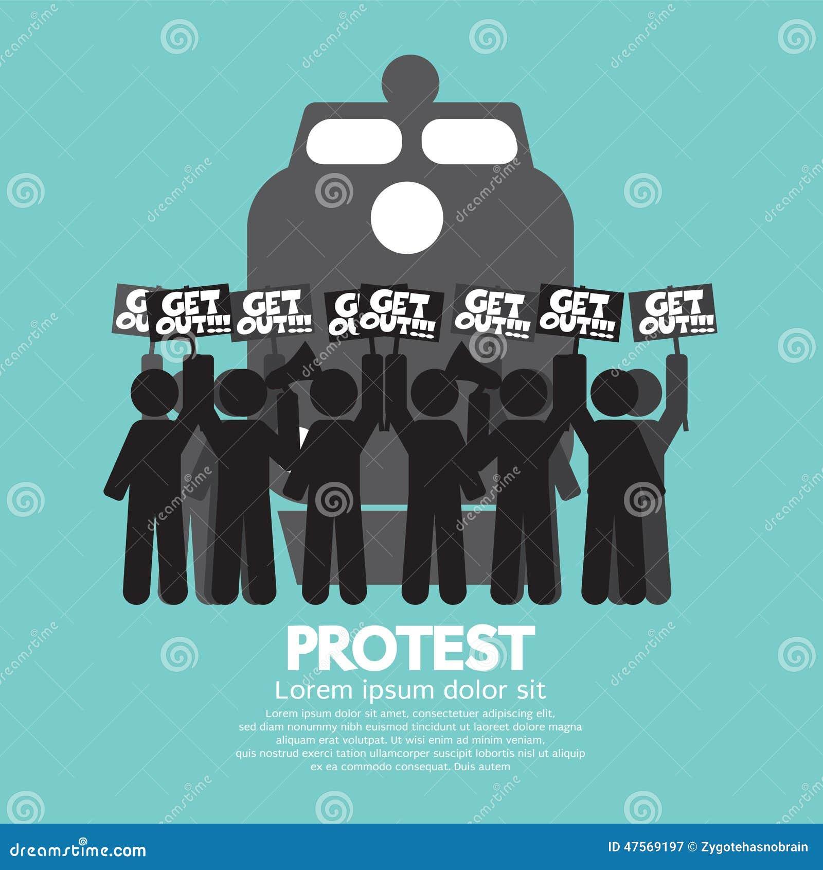Drevarbetarslag och protest