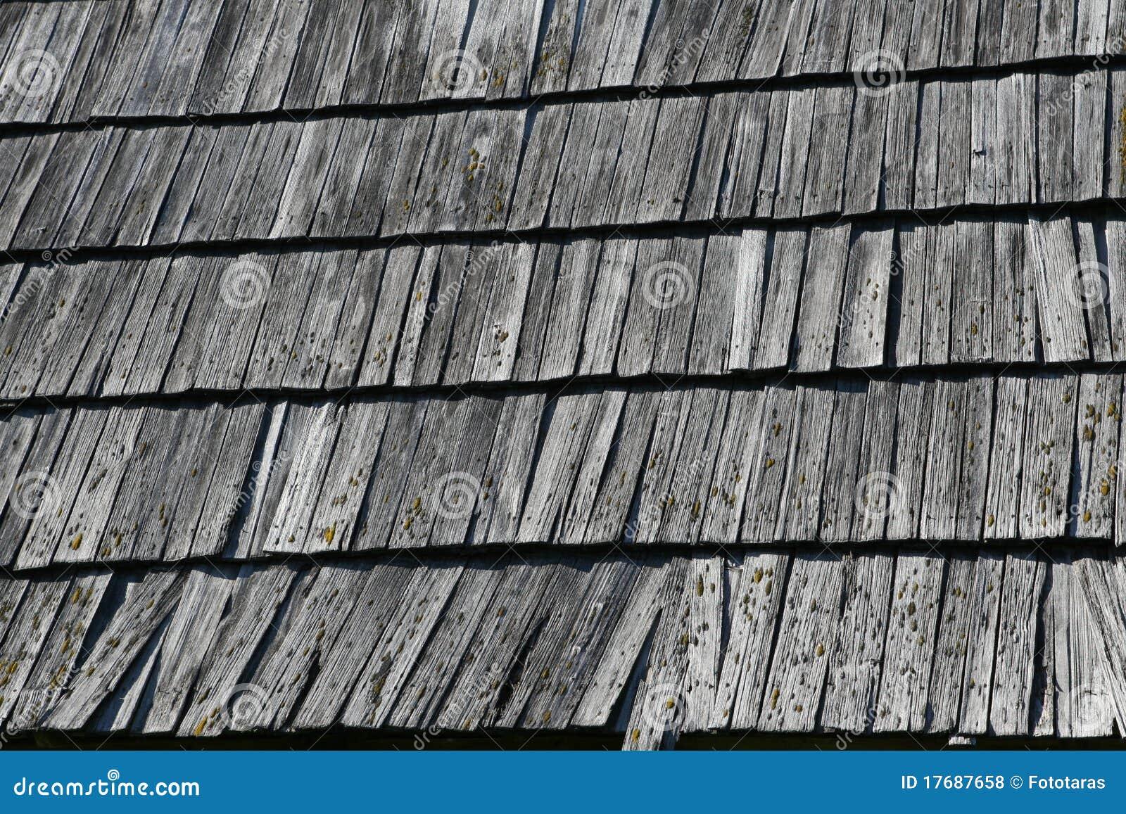 Drewniana dachowa struktura