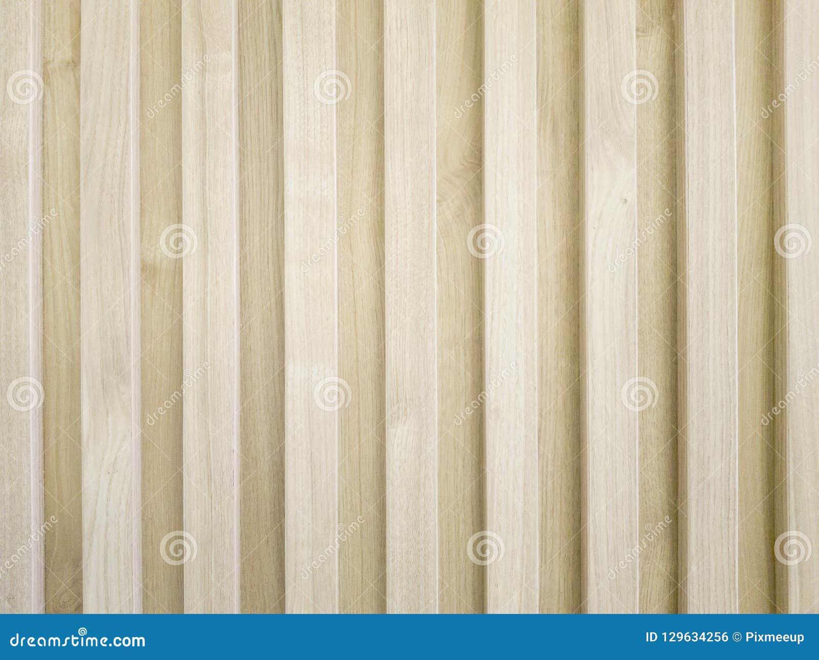 Drewniana lath ściany dekoracja robić stałym drewnem, pionowo deseniowy projekt