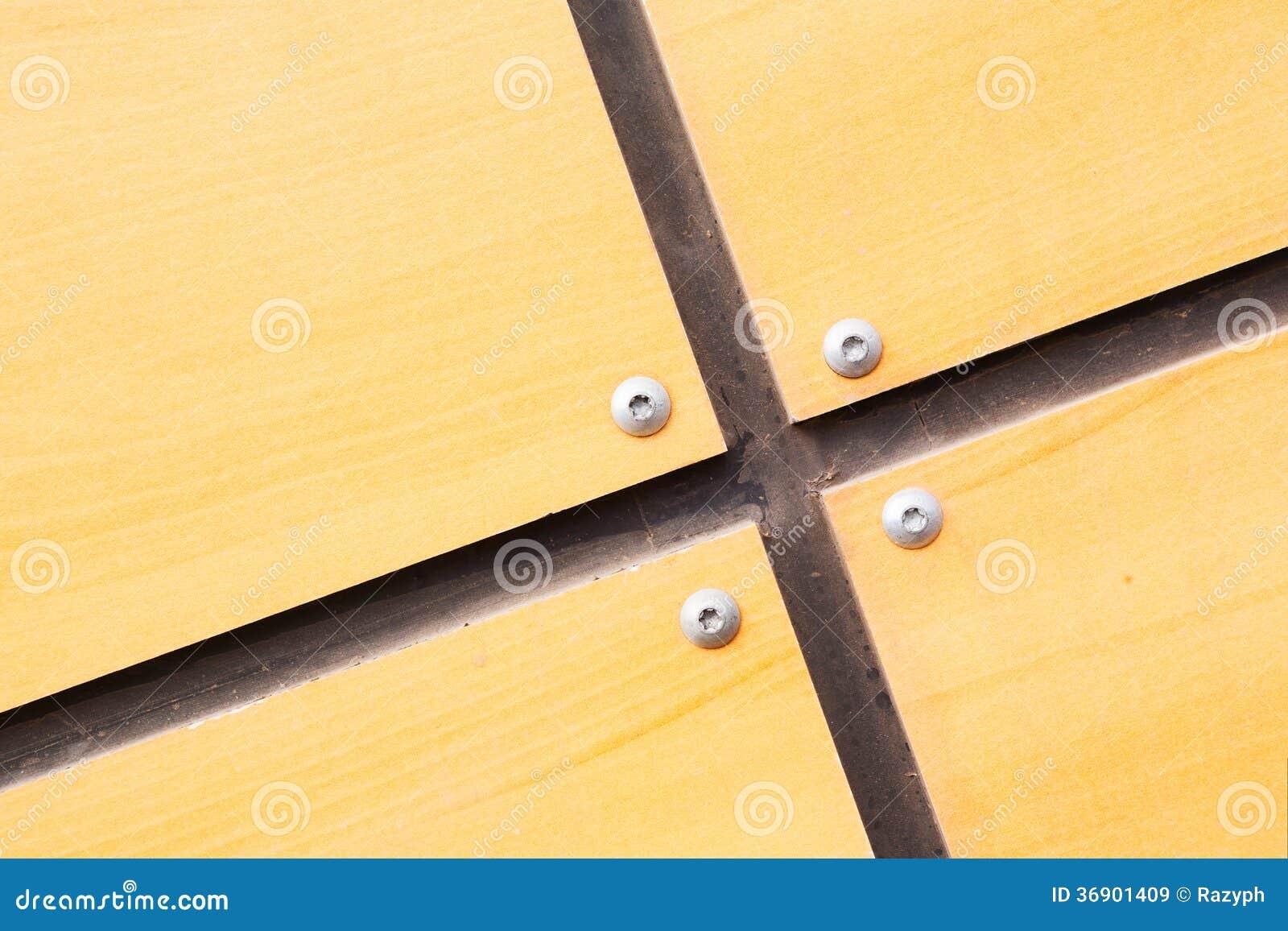 Drewniana listwy aneksja