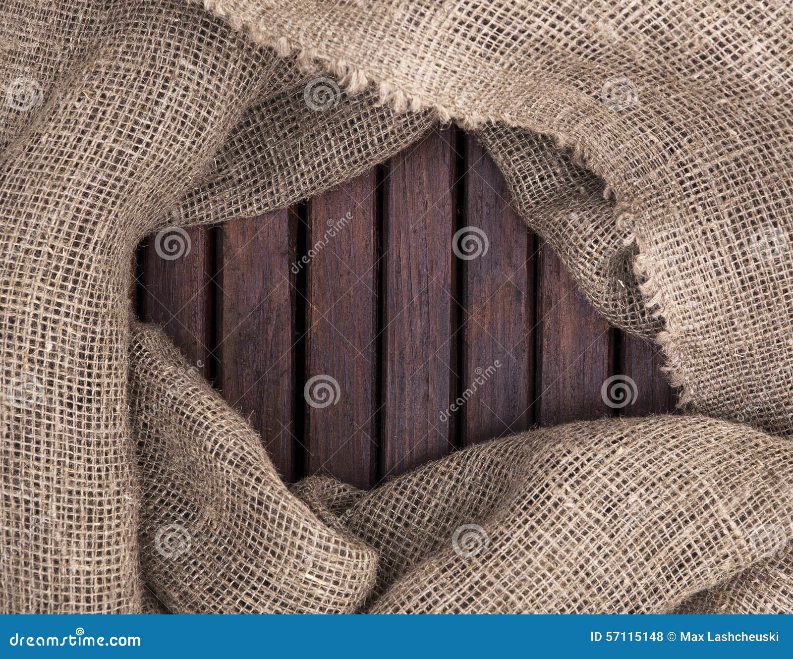 Drewniana tekstura Ramowe tkaniny