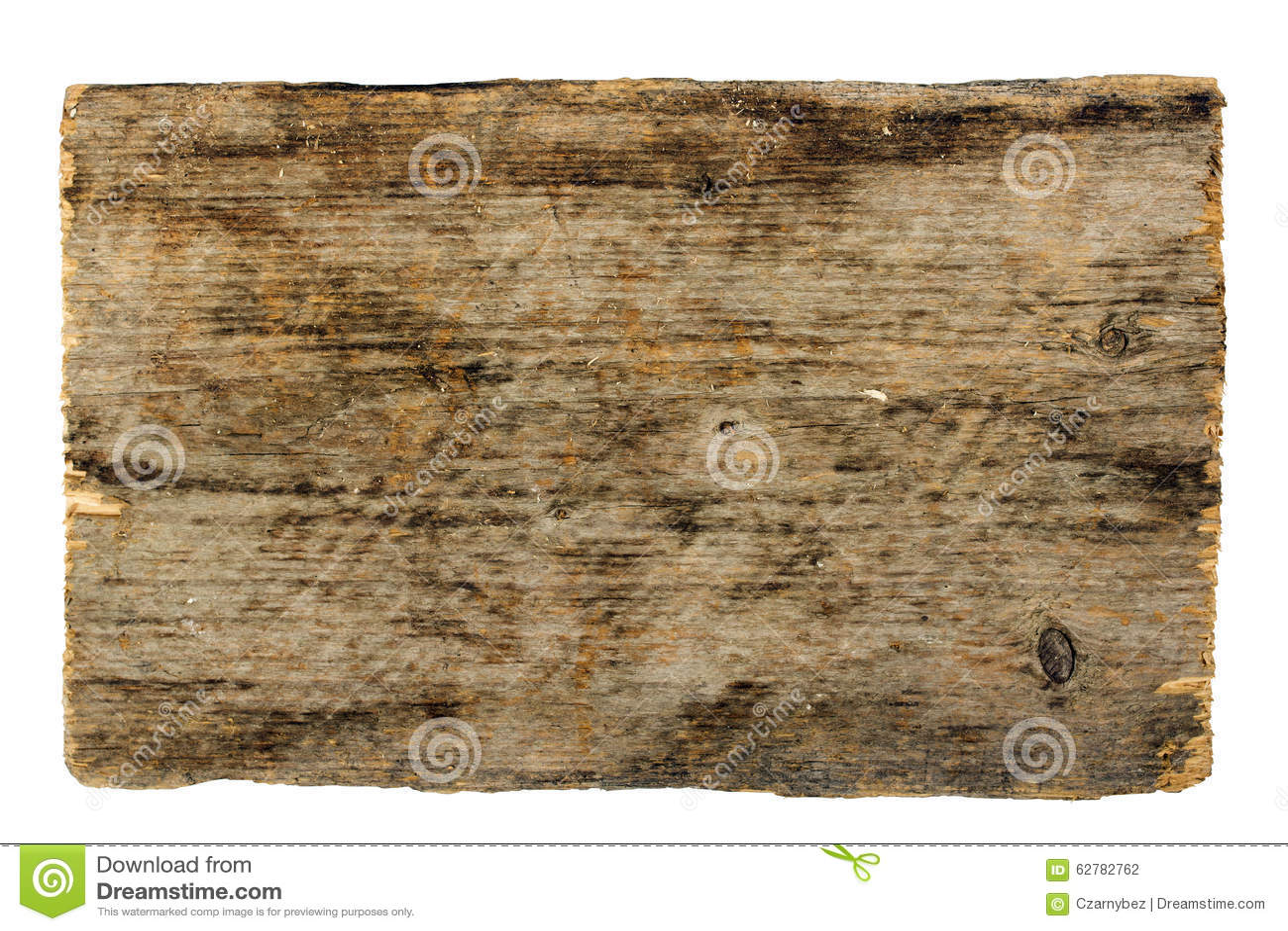 Drewniana znak deska odizolowywająca na bielu