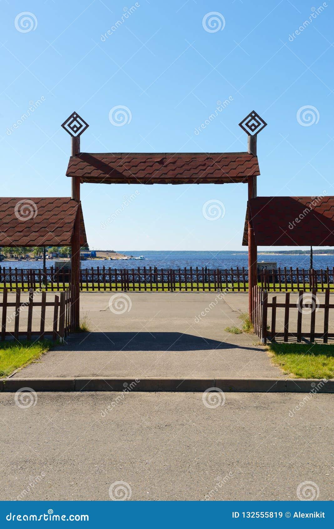 Drewniane wysokie gramocząsteczki w Chuvash obywatelu projektują
