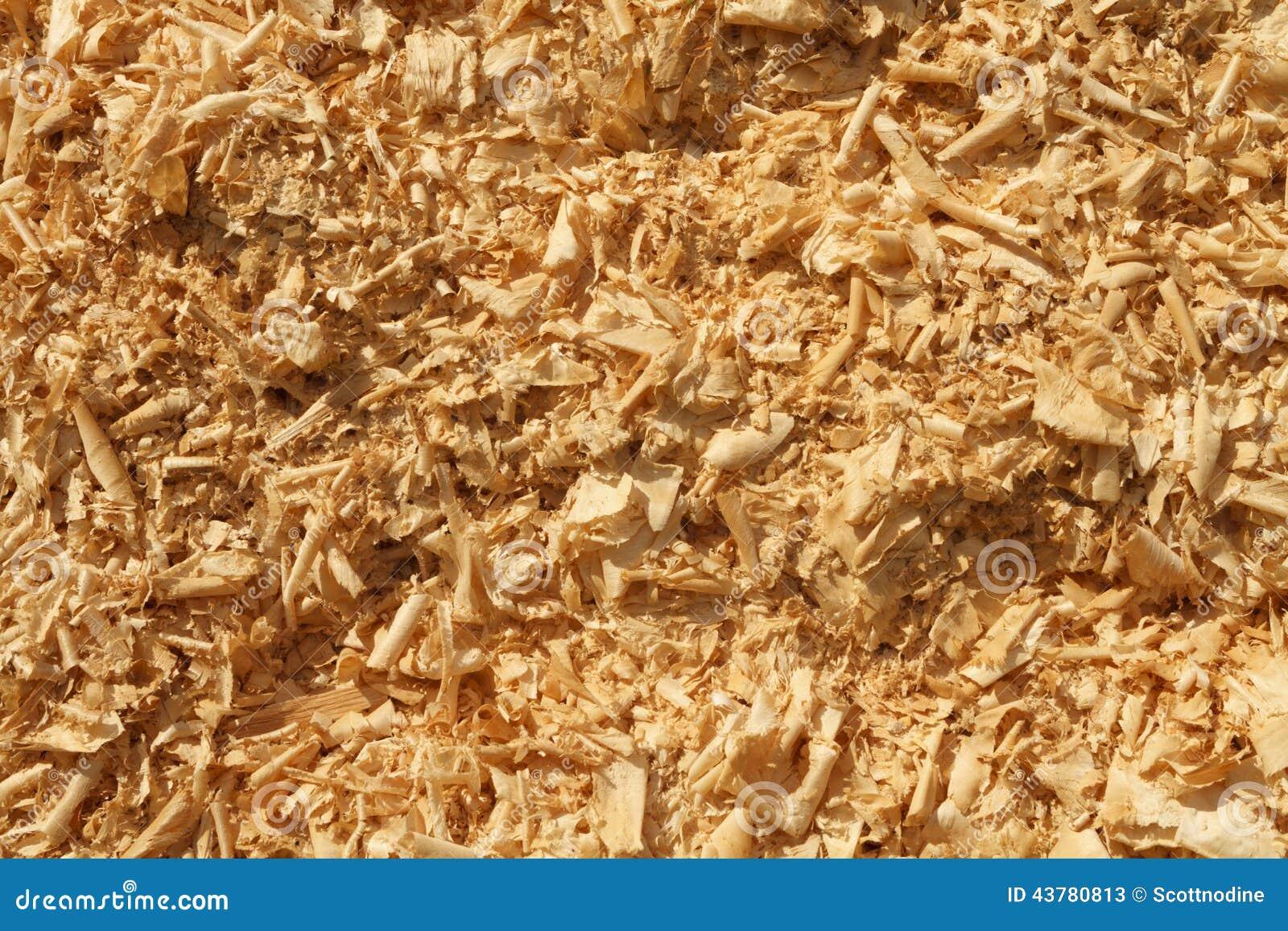 Drewniani golenia I trociny tła Palowa tekstura