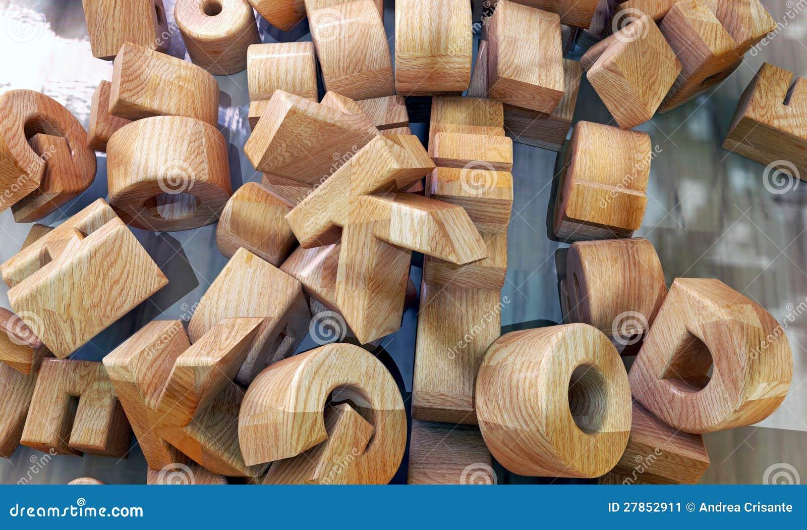 Drewniani listy