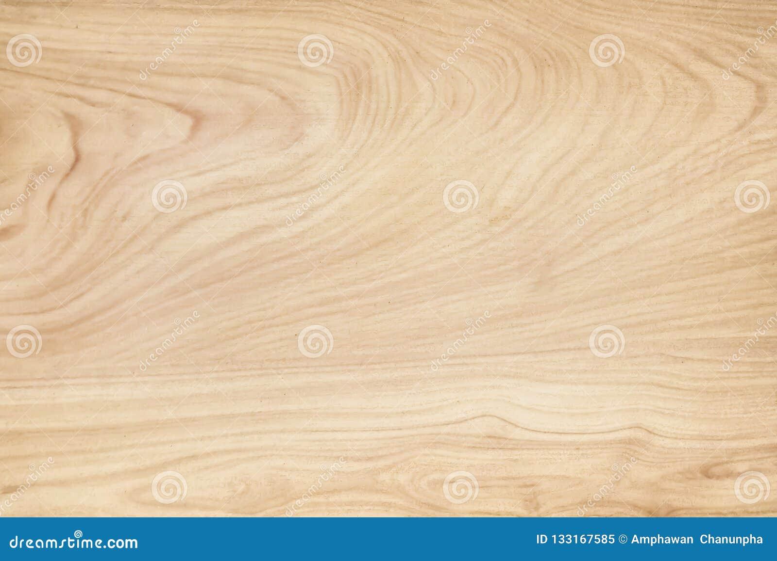 Drewniany ścienny tekstury tło, Jasnobrązowi naturalni falowi wzory abstrakcjonistyczni w horyzontalnym