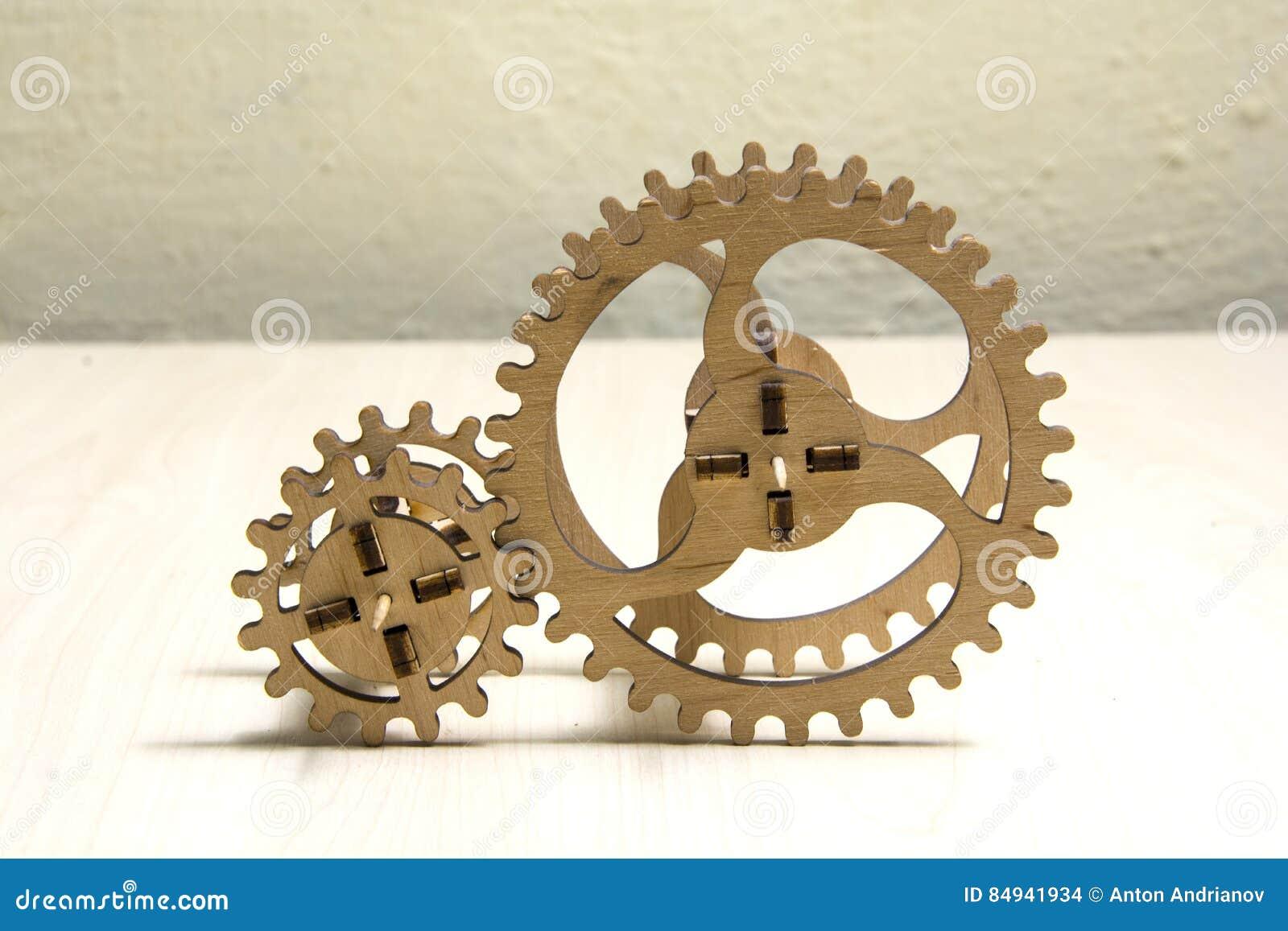 Drewniany mechanizm