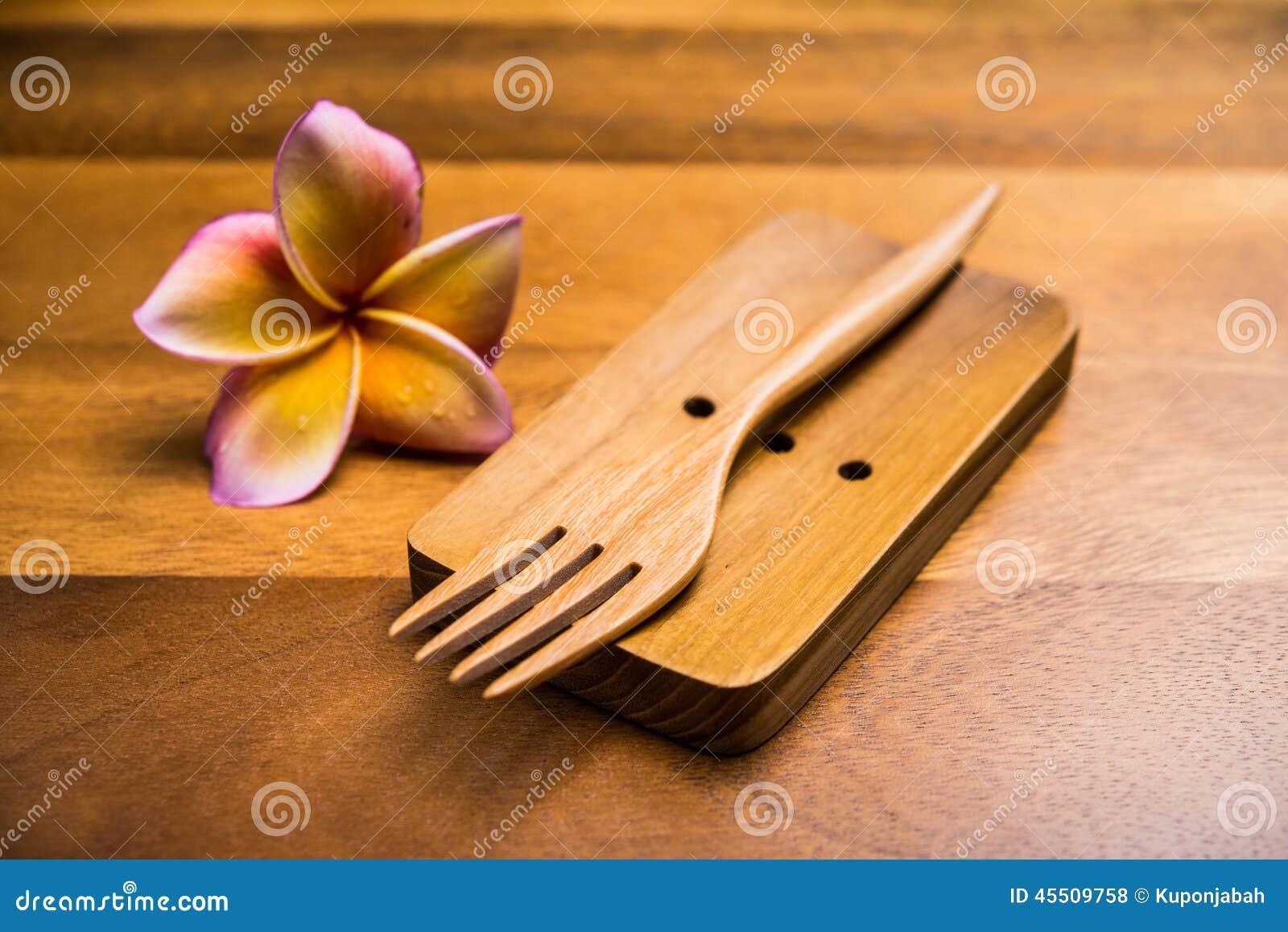Drewniany rozwidlenie