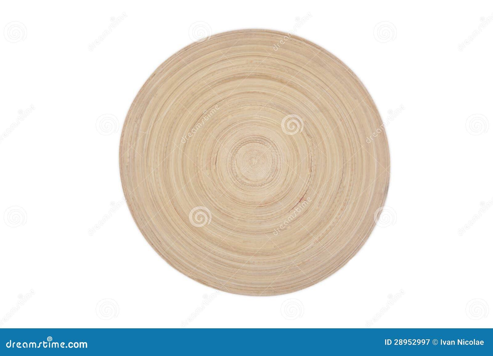 Drewniany talerz