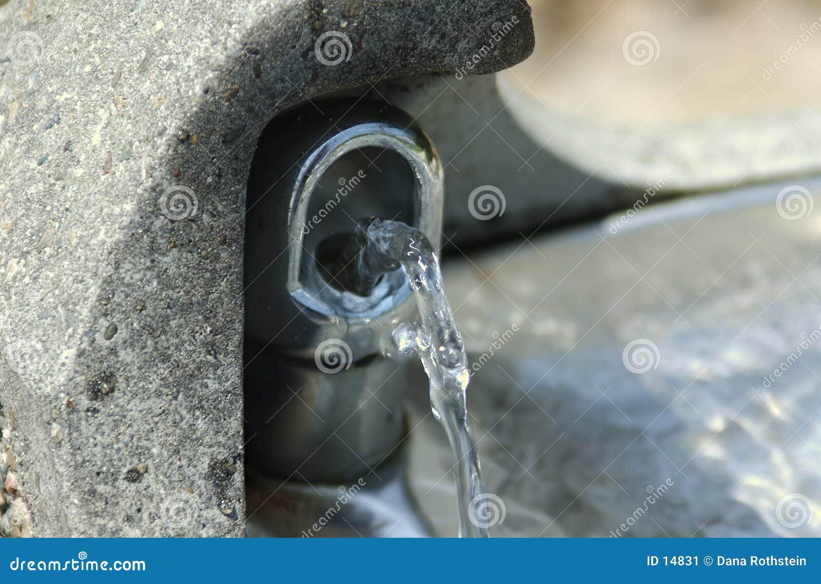 Dricka springbrunn