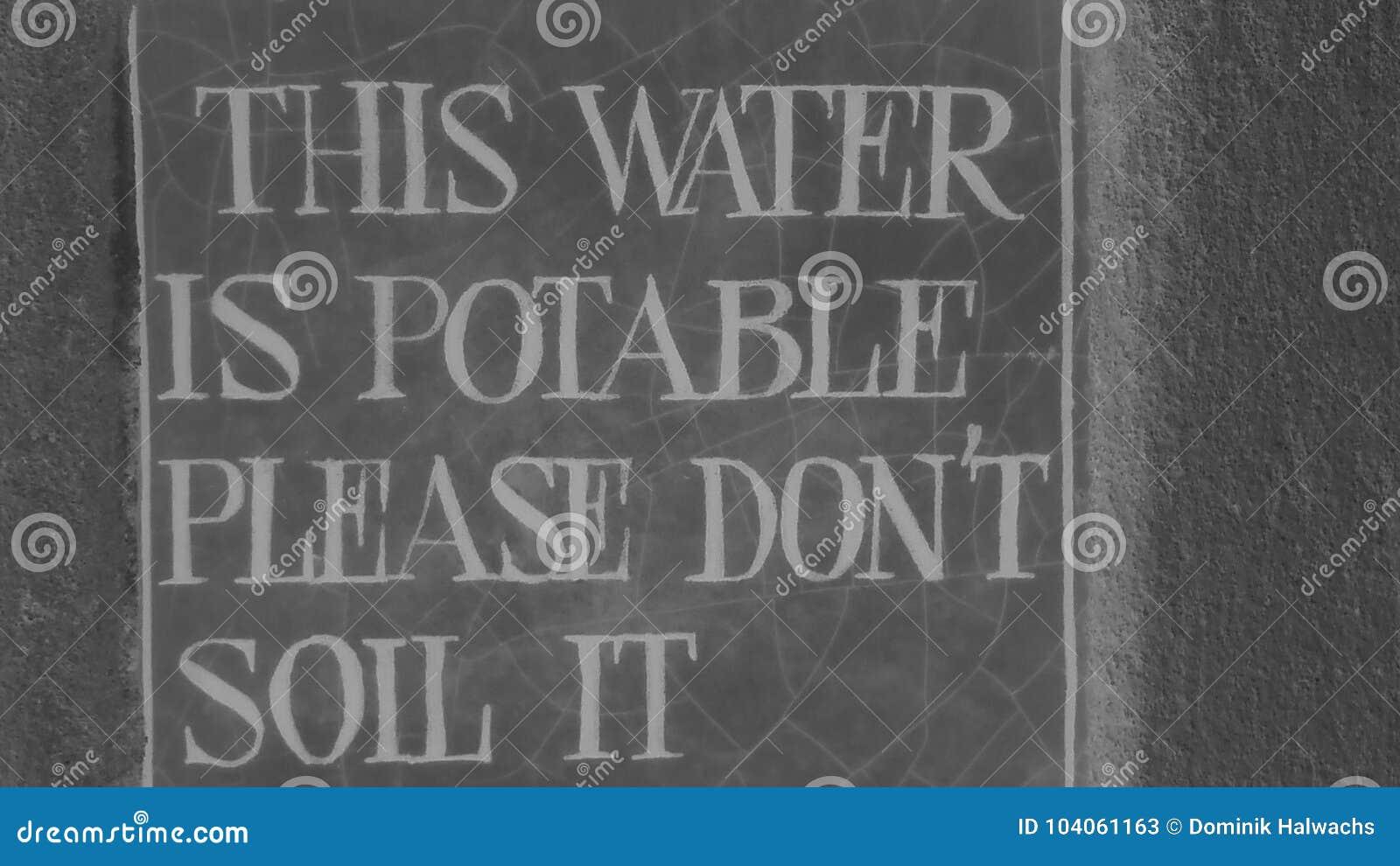 Drickbart vatten