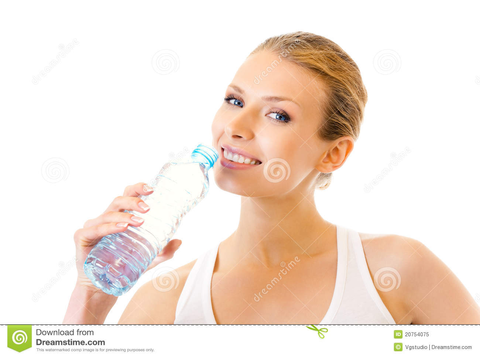 Dricksvattenkvinna